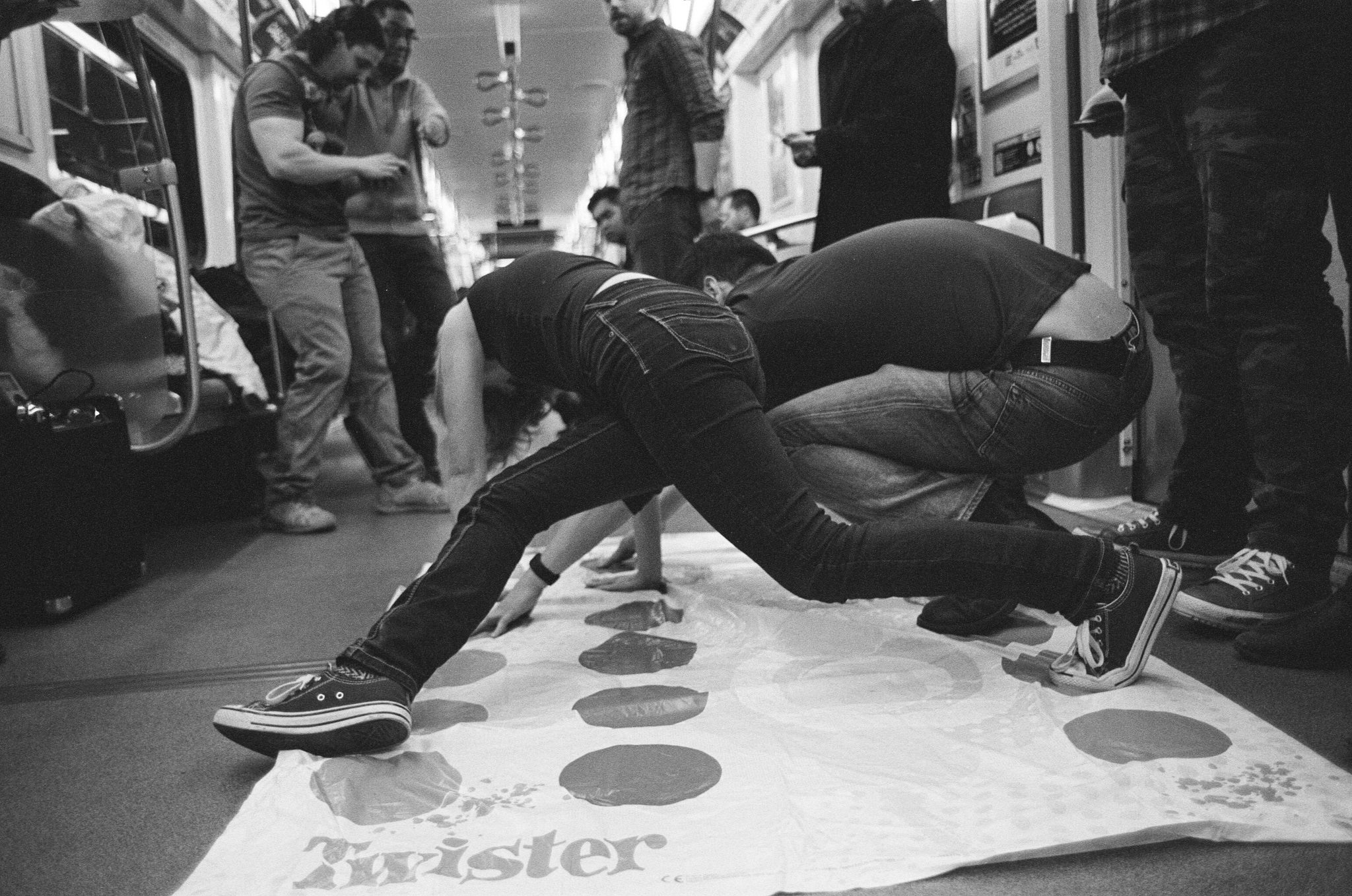 Andrew Gammell | Subway Twister No. 1 | Canon AE-1 | Tamron 28mm f2.5 | Fuji Neopan 400