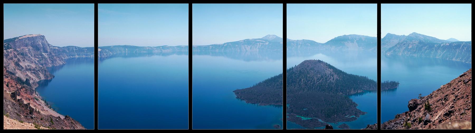 Crater Lake Pentaptych | Pentax 645N | Kodak Ektar | Colton Allen