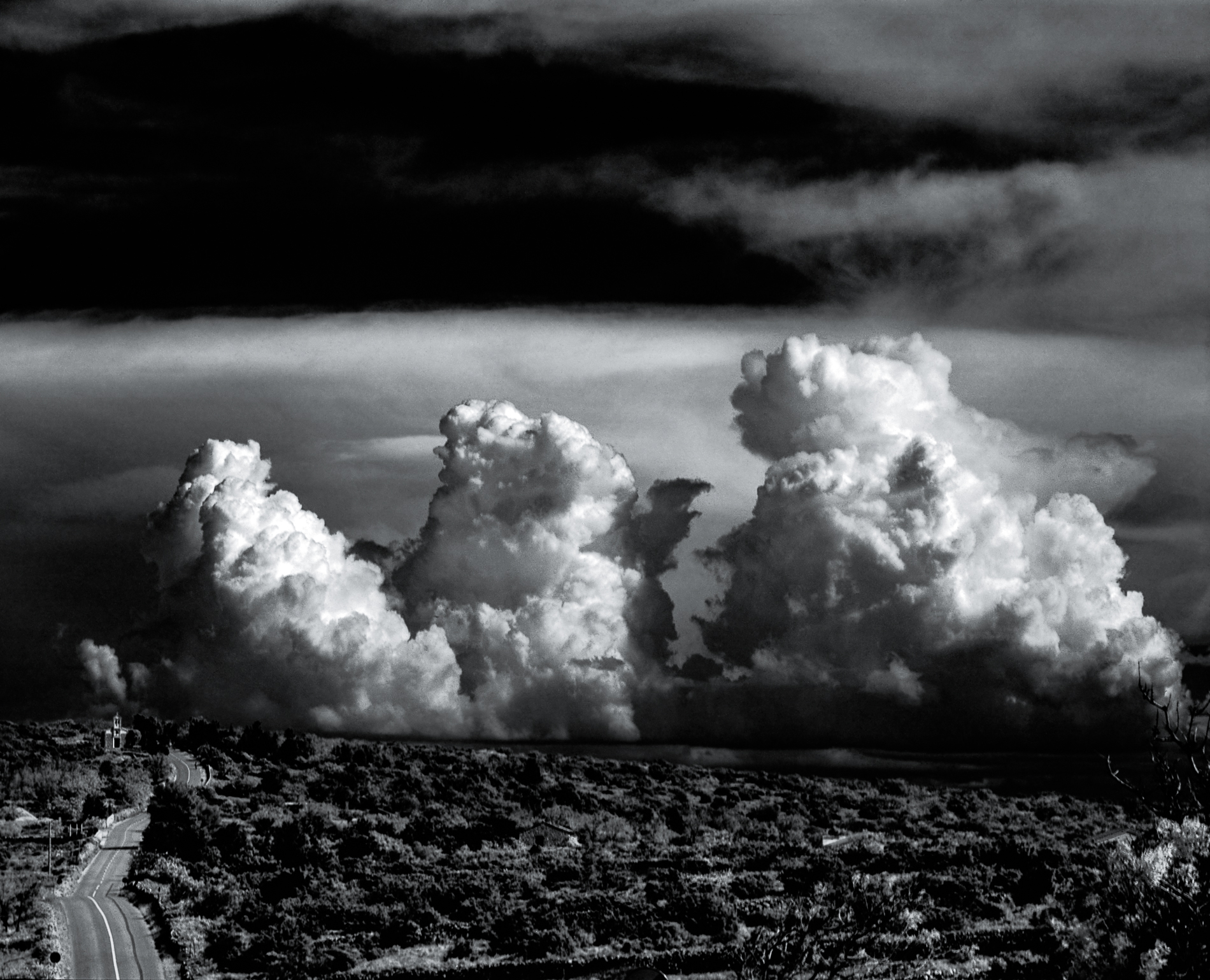 a road to the clouds | mamiya rz67 pro-II | 250mm f4.5 | rollei retro 80s infrared | spur sd2525 | kornelije sajler