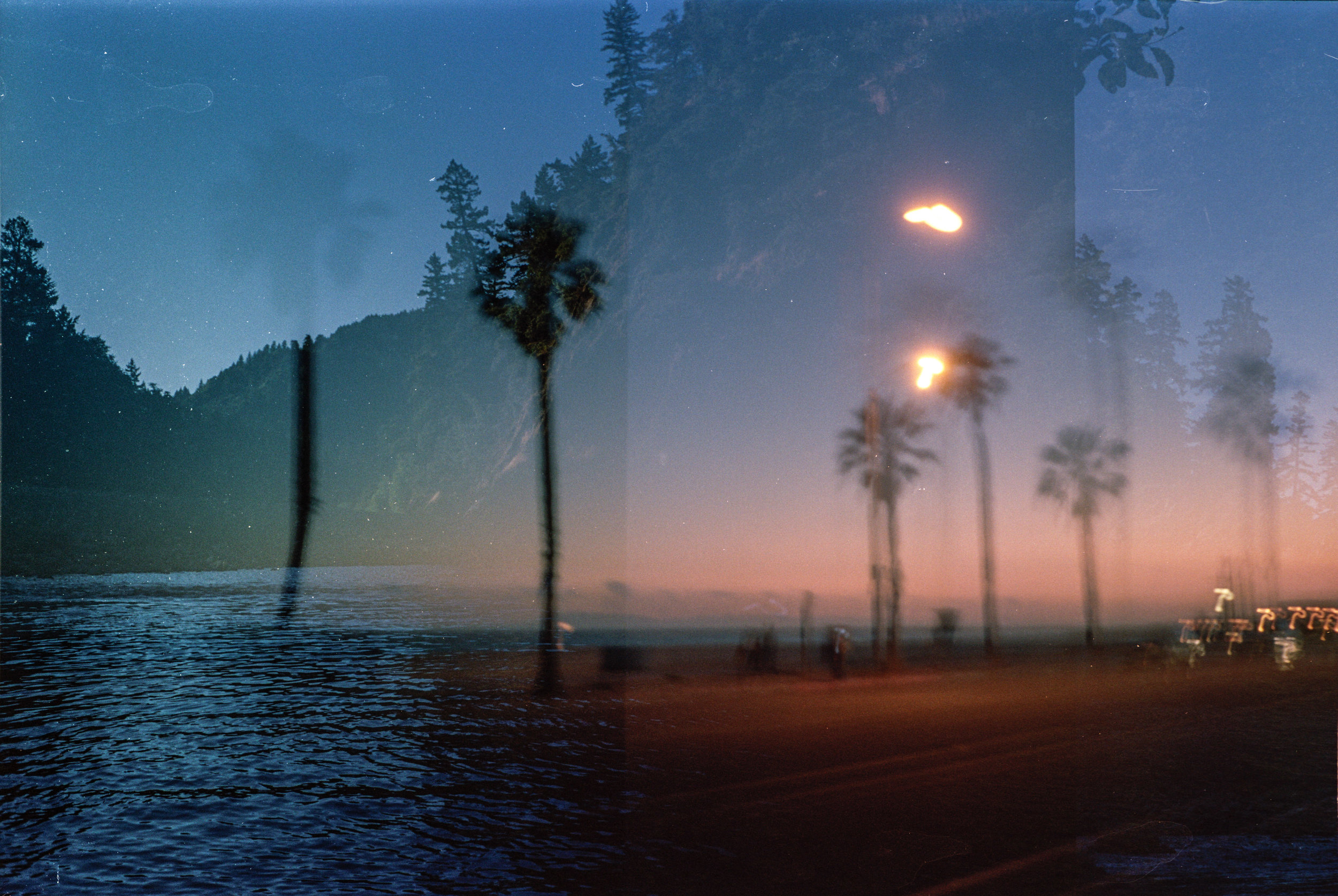 Split Sky | Minox 35GT | Kodak Portra 160 | Jesse Hughey