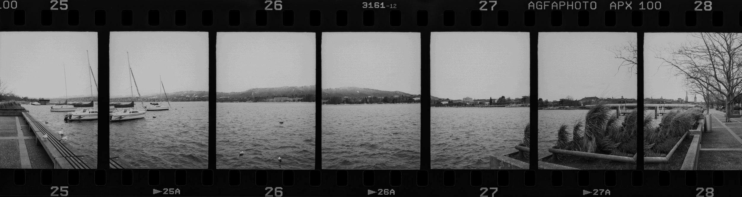 Daniel Stoessel   Panorama Pieces   Fujica Half   Agfa APX 100