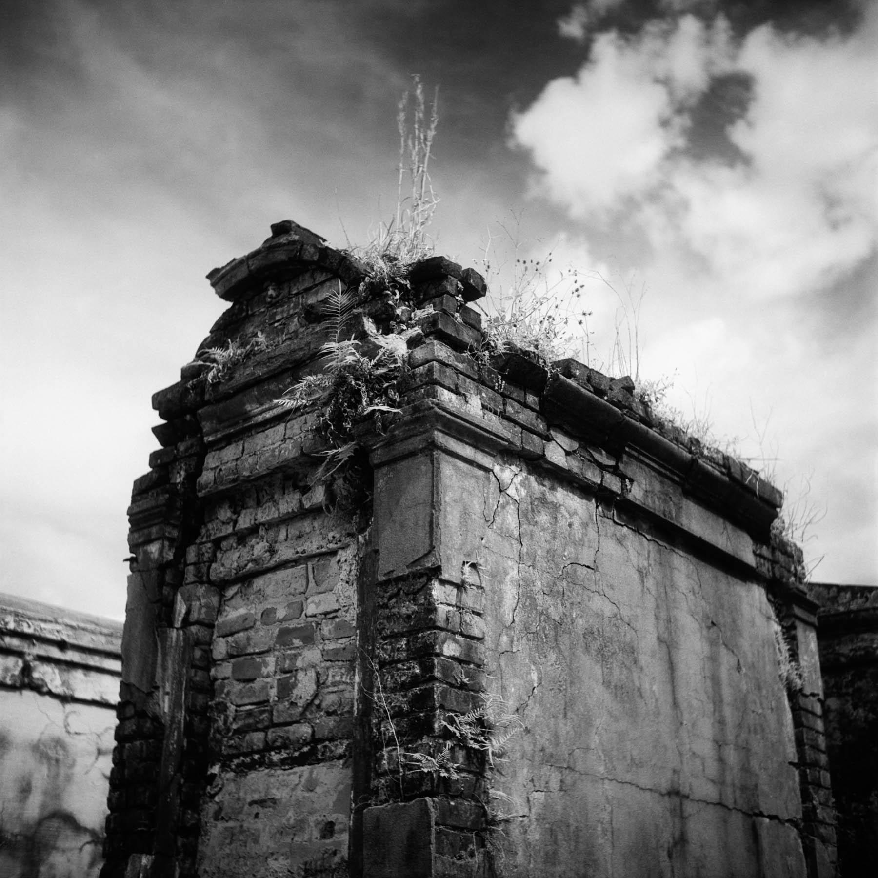 Colin Poellot | Entombed | Rolleiflex | Konica IR750