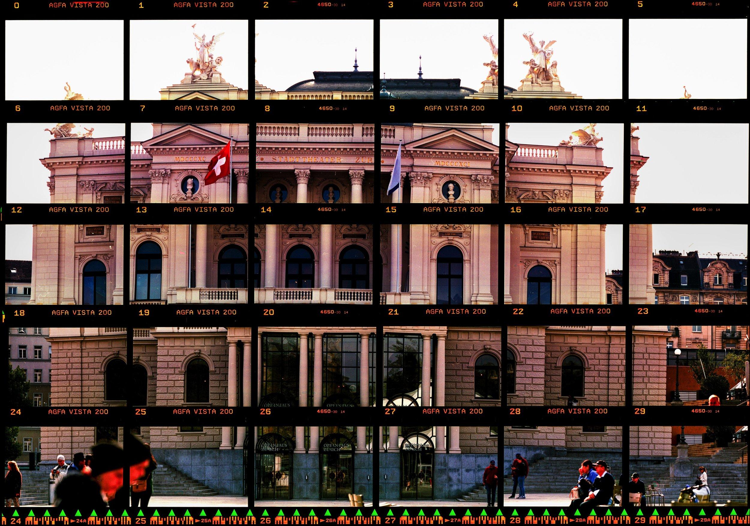 Opera House In Thirty Pieces   Nikon F100   Agfa Vista 200   Daniel Stoessel