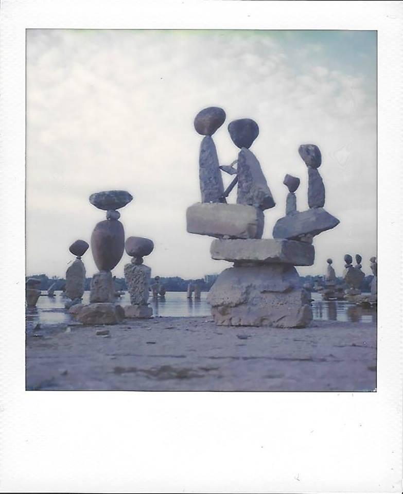 Rock Art 1 | SX70 | Julian Kanarek