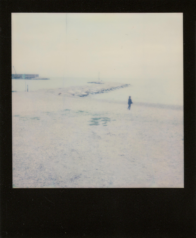 Lonely child | I-1 | Impossible Color + Black Frame | Matteo Quitadamo