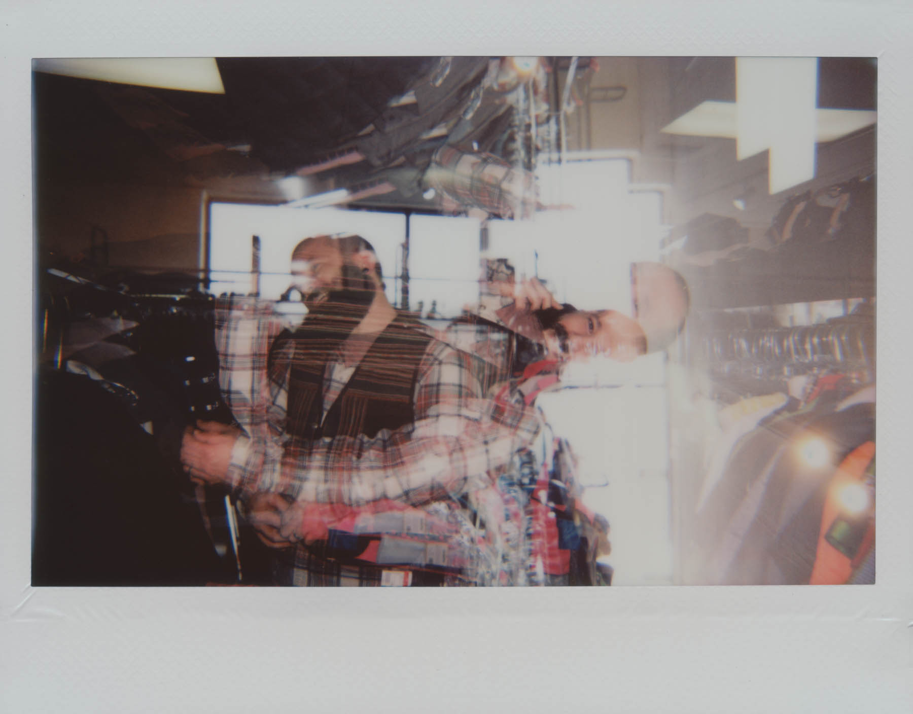 Thrift Store Confusion | Lomo'Instant Wide | Instax Wide | Gina Gorsek