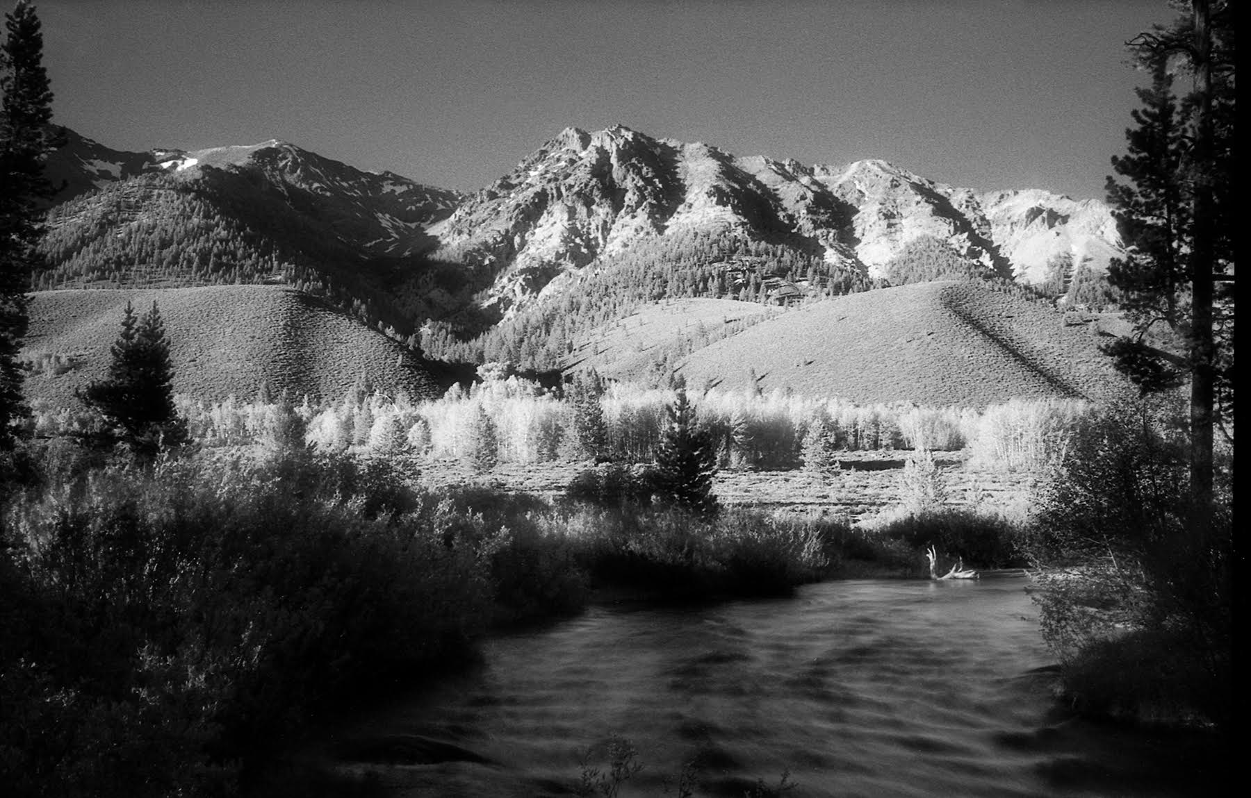 Boulder afternoon…June 2009 Leica M5, 35mm Summicron , Efke IR820 Aura