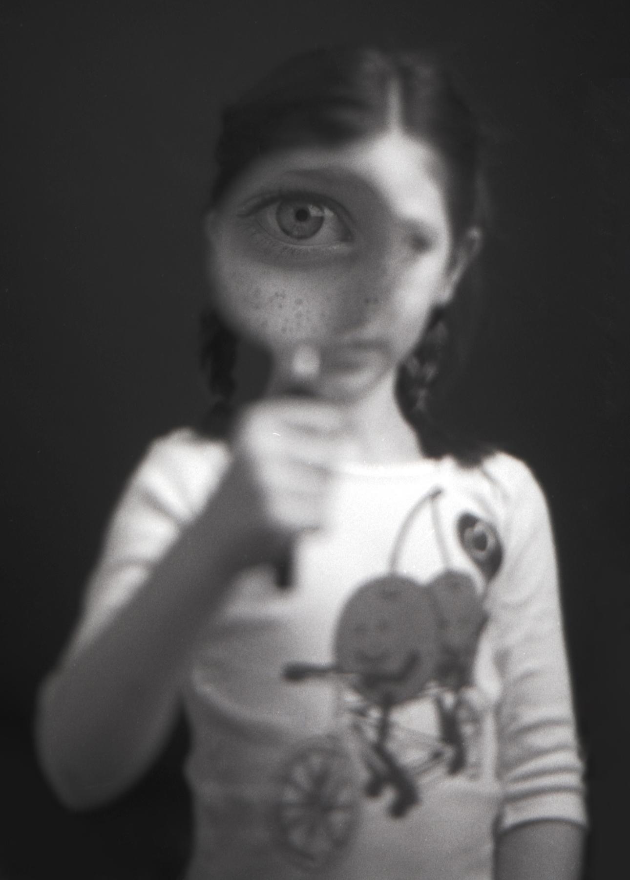 Magna Eye | Minolta SRT 102 | Kodak TMax 100 | Ellen Goodman