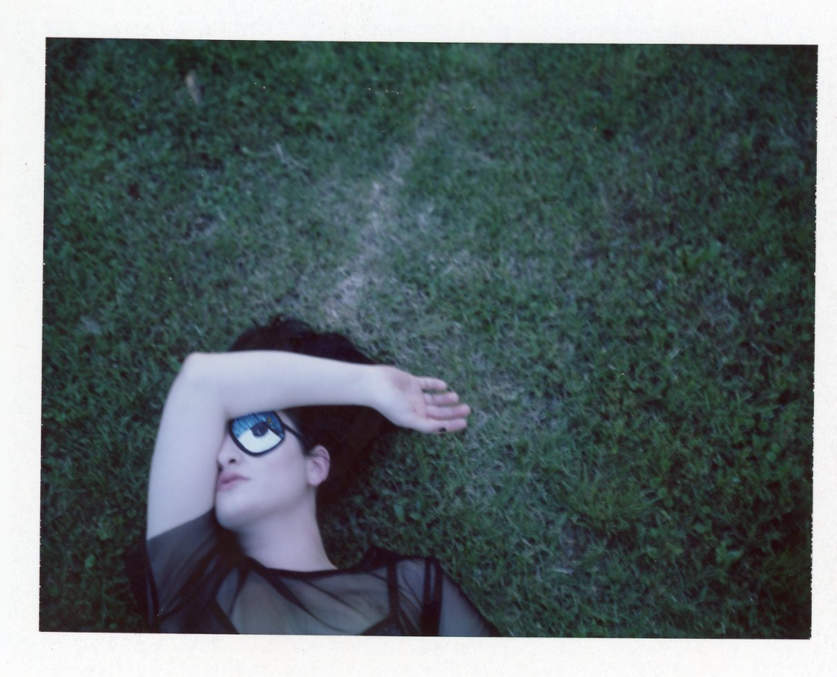 Jordan's Eye | Polaroid Land Camera | Camille Philips