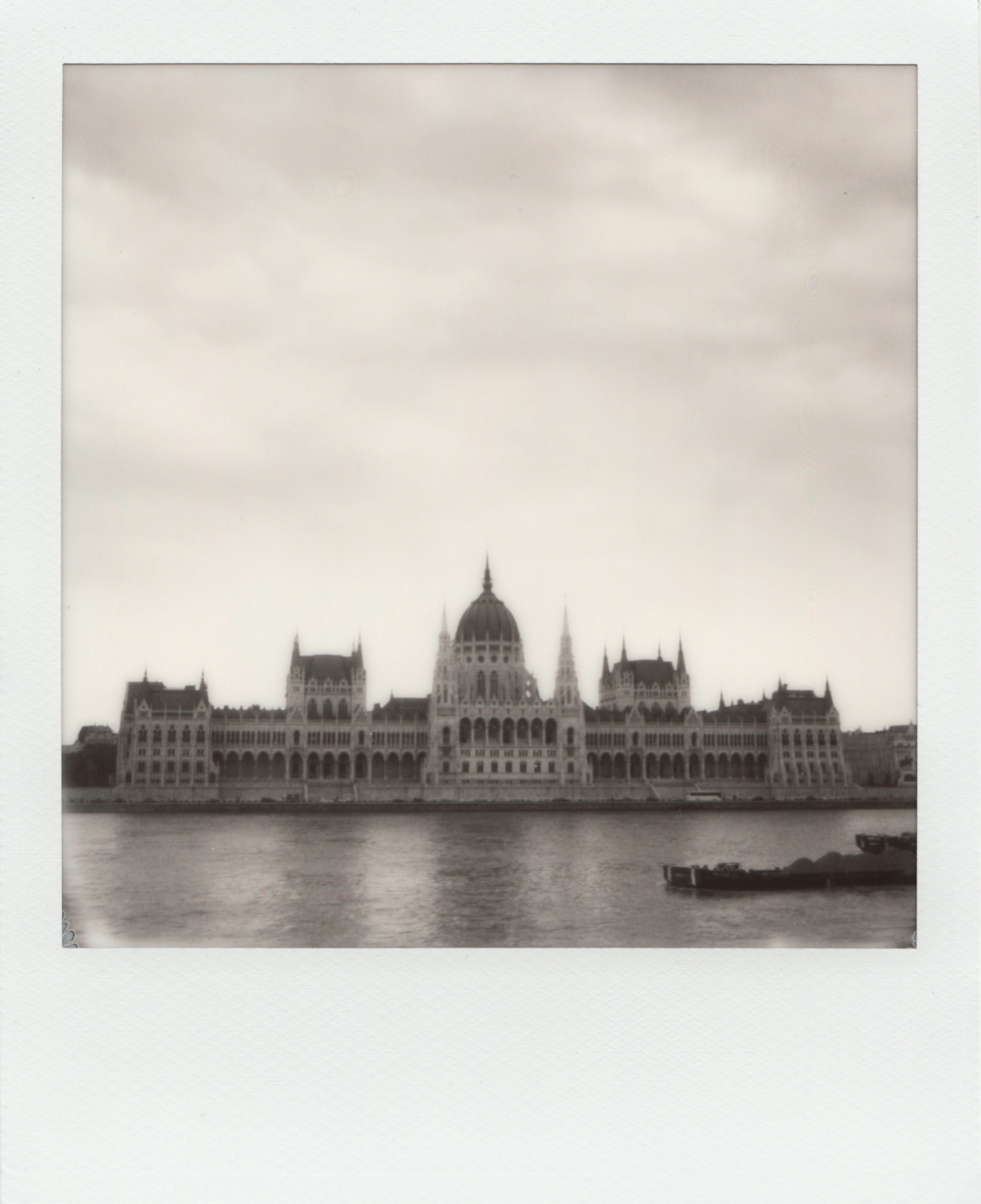 When In Budapest | SX-70 Alpha1 | Impossible Project Black and White SX-70 film | Ioana Taut
