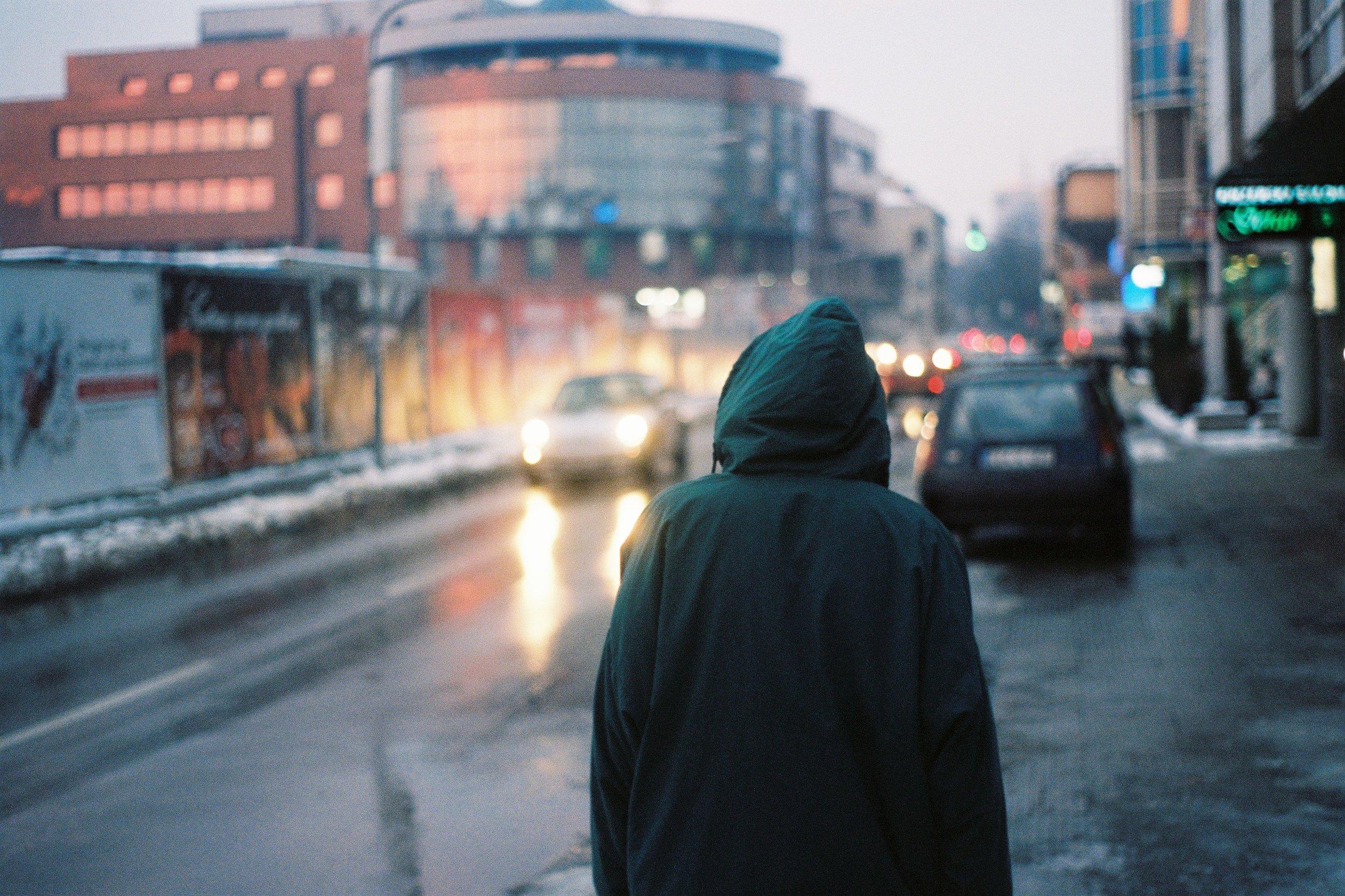 Winter Sundown | Pentax K1000 | 50mm | Dominic Naprelac