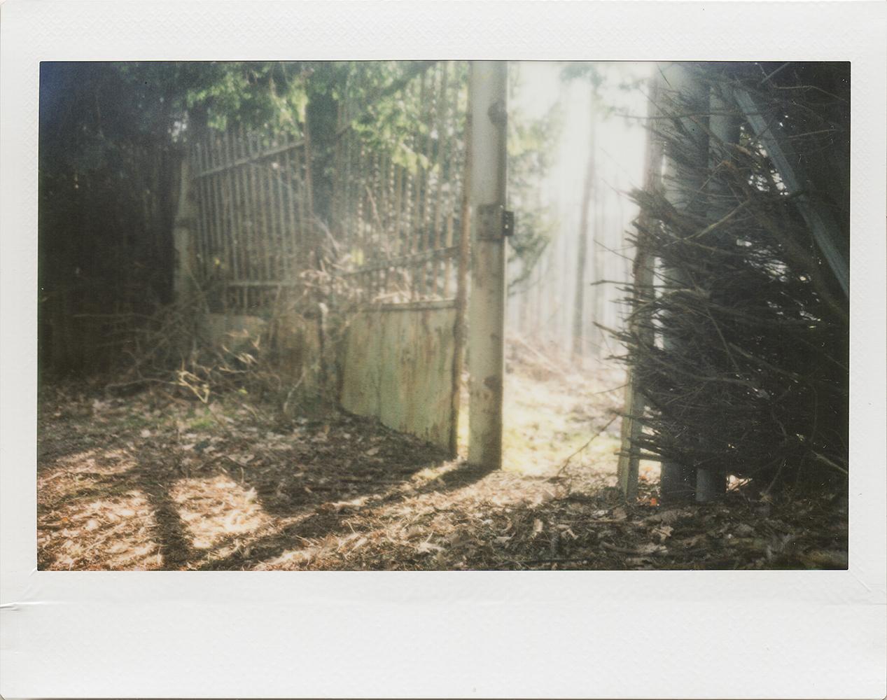 The Gate | Polaroid 250 | Instax Wide | Karin Claus