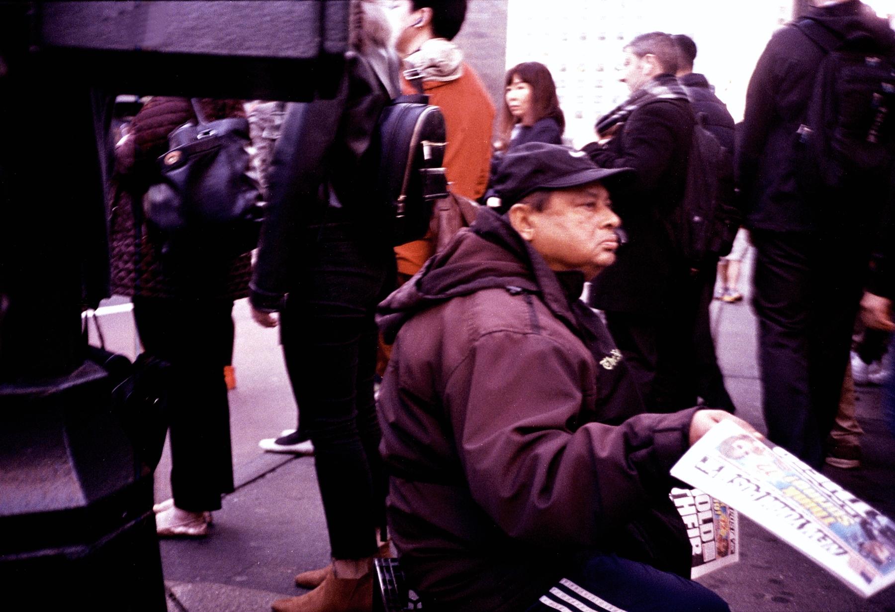 Pushing Papers/Honest Living. Midtown Manhattan