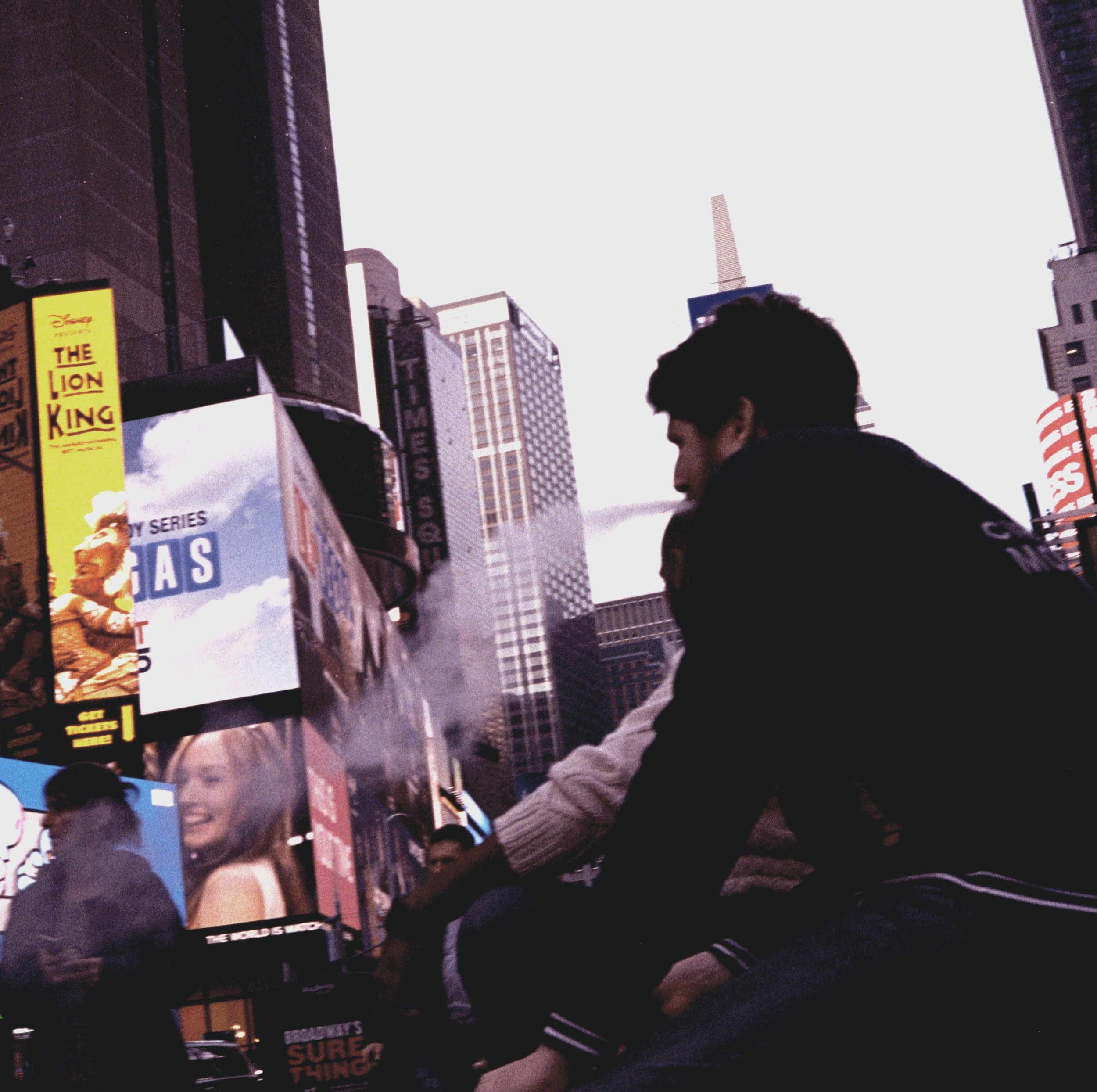 Channel of Carbon. Midtown Manhattan