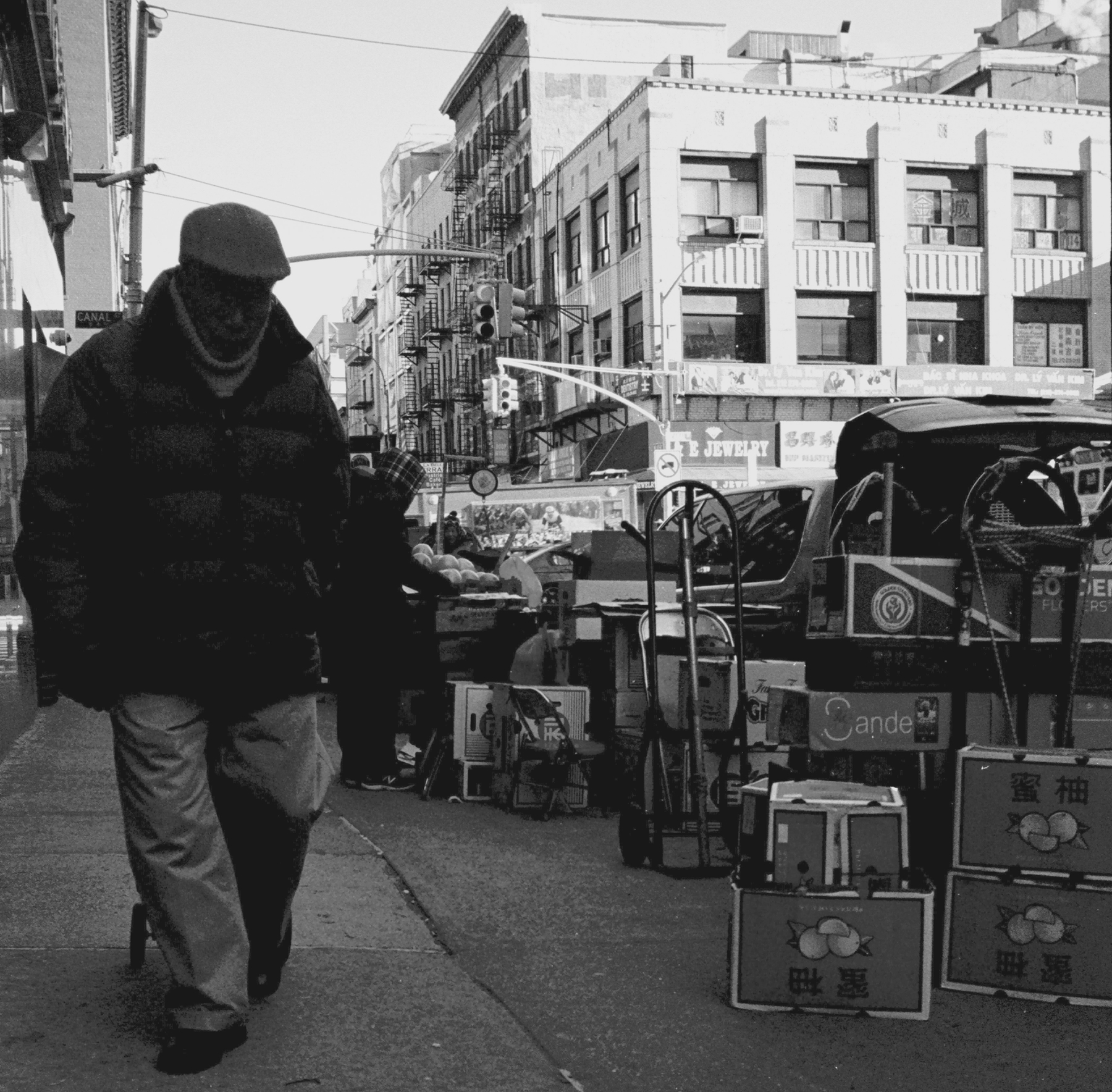 Canal Street Boxing & Journey. Chinatown, Downtown, Manhattan