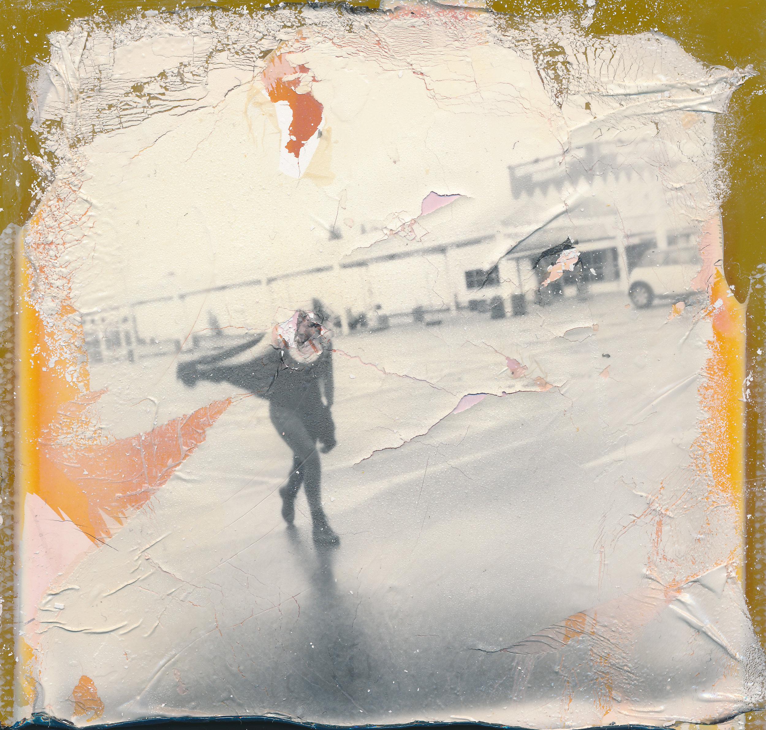 Jane Doe 1V | Polaroid Time Zero + Impossible Project B/W | Kay Adams