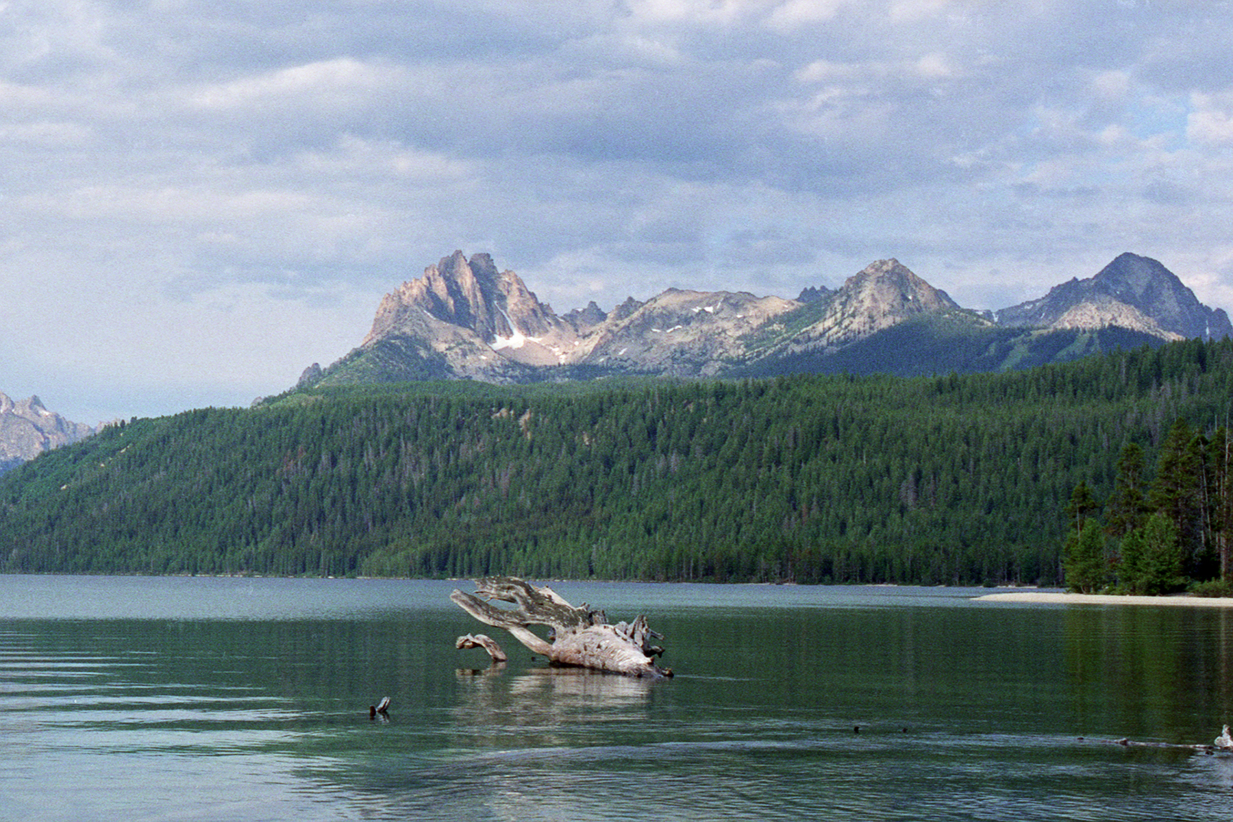Heyburn Mountain and Redfish Lake, Idaho |   Hasselblad Xpan, Perutz SC100