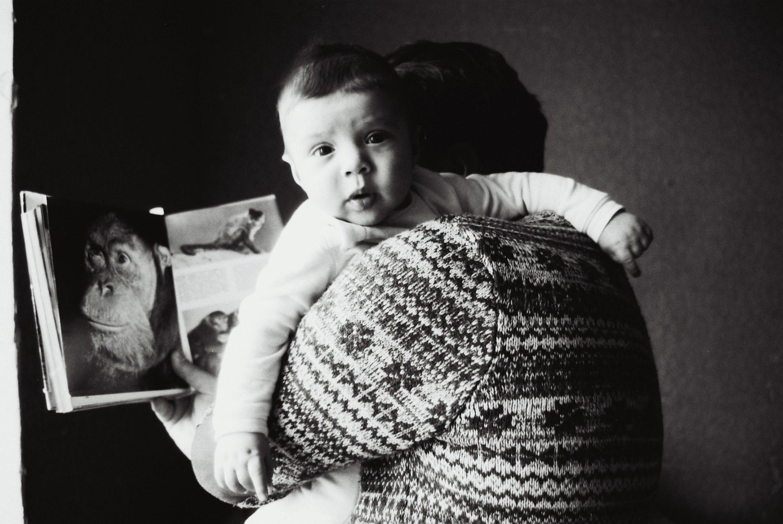 My Son | Nikon F90 | Kodak T-max 100 | Ana Dzagania
