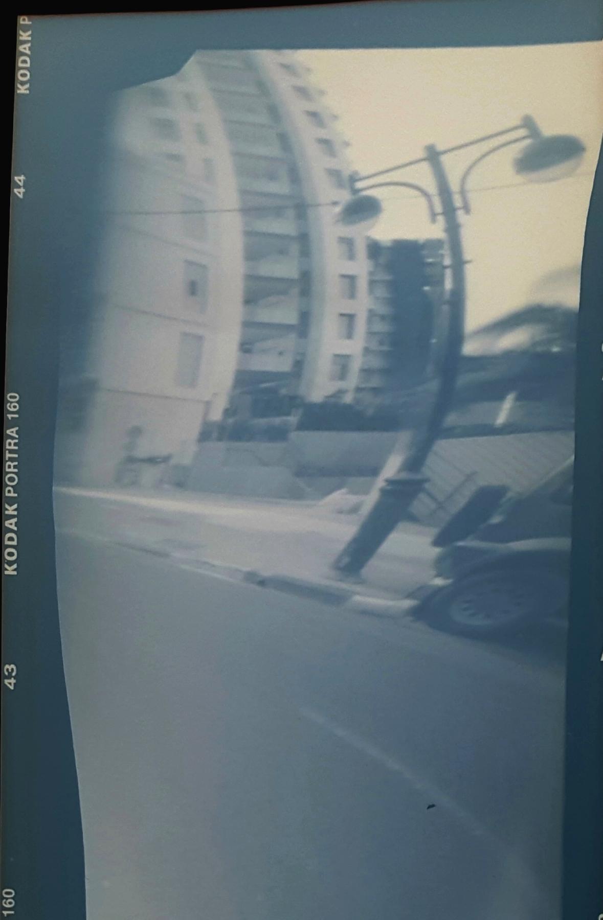 Edgy Edge | Vermeer Anamorphic Pinhole Camera | Daphne Schnitzer