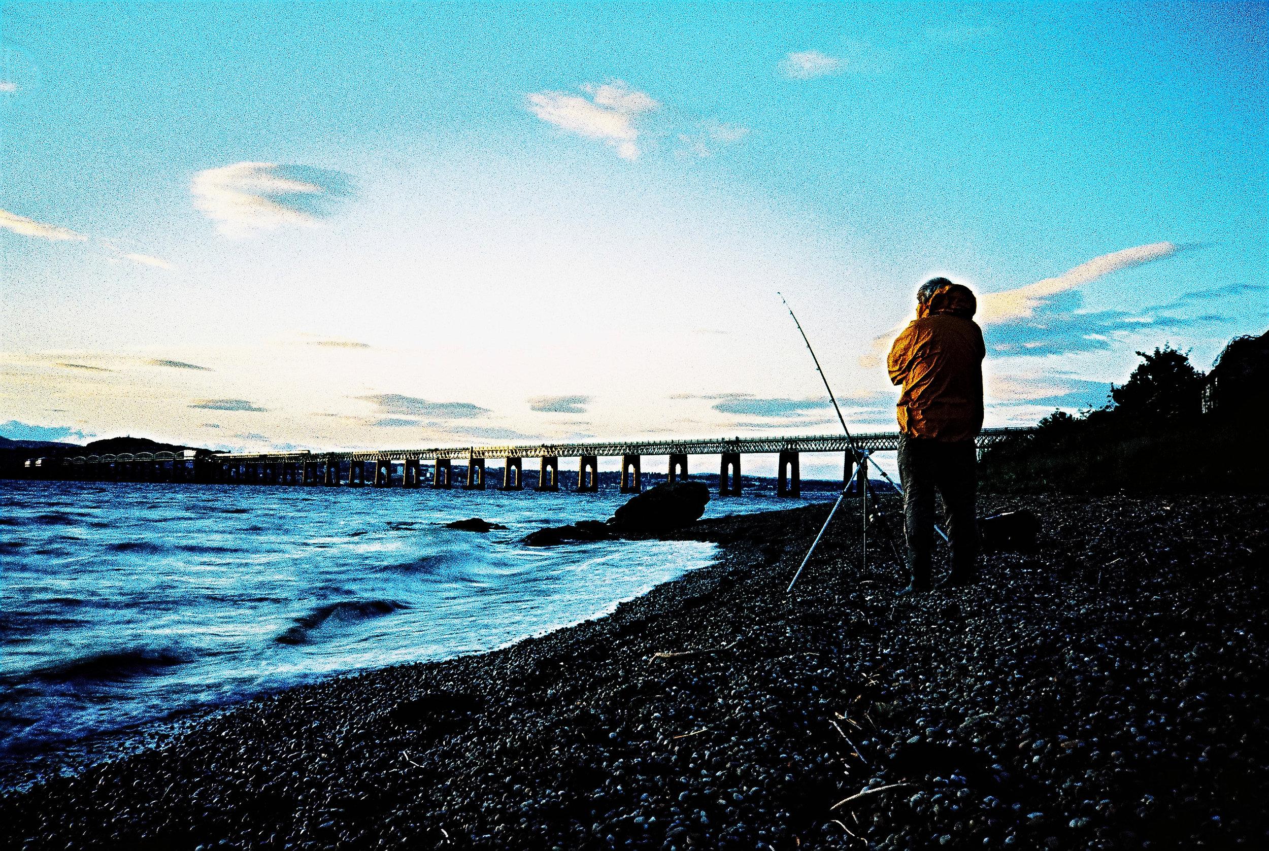 X-pro Fishing   Olympus XA   Velvia 50   Michael Rennie