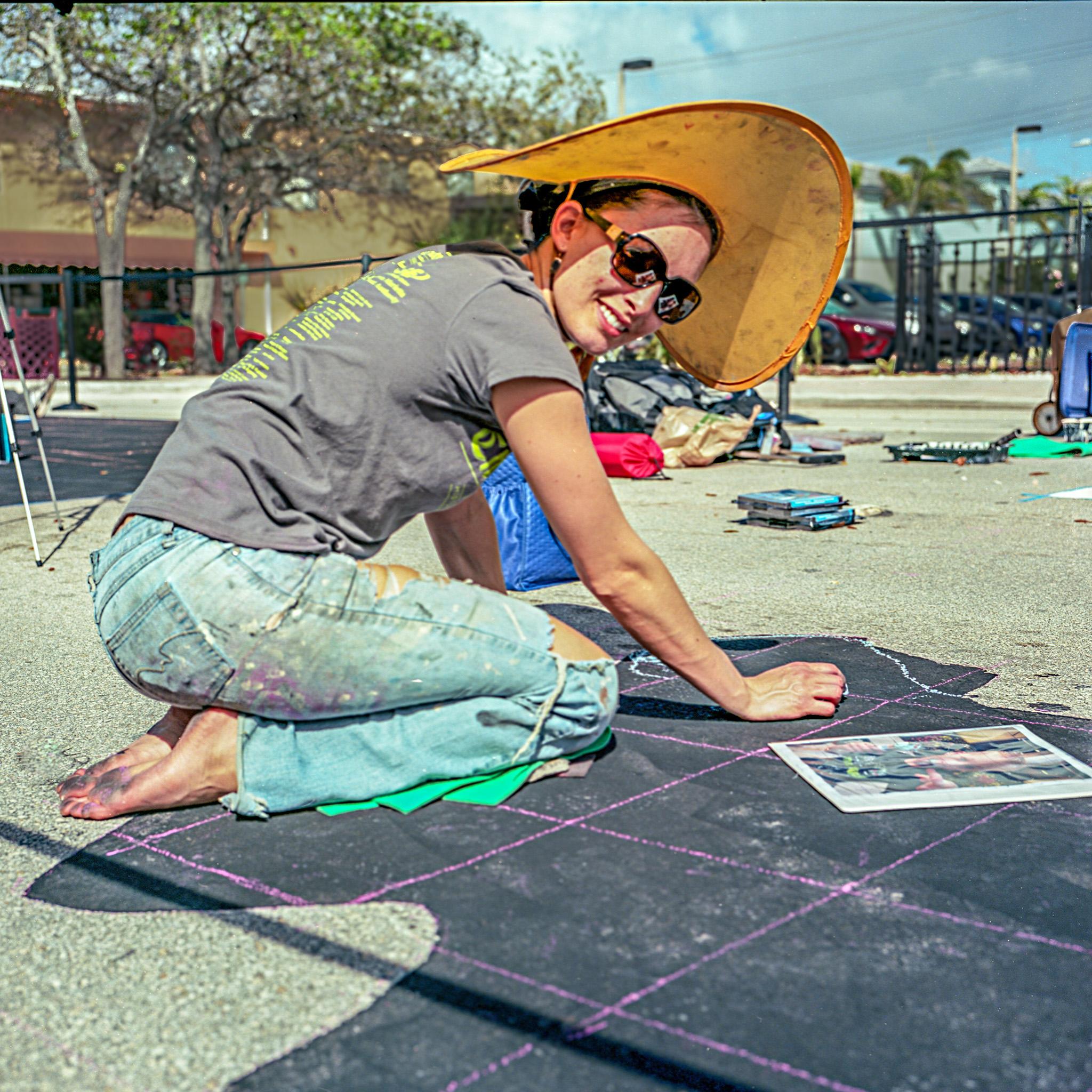Jim LaRocco | Street Art | Rolleiflex | 80mm