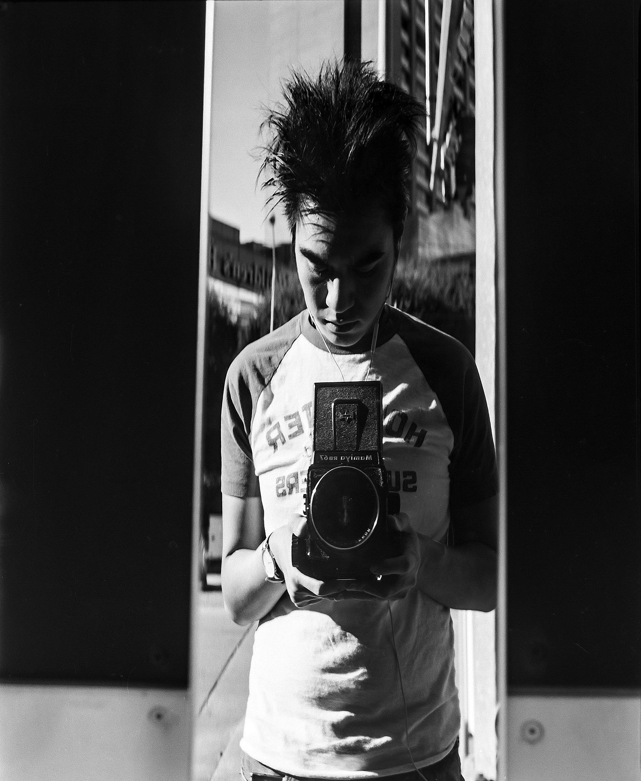 Paolo Joao De Jesus  | A Vivian Maier-esque Selfie | Mamiya RB67 | Mamiya Sekor 90mm F3.8
