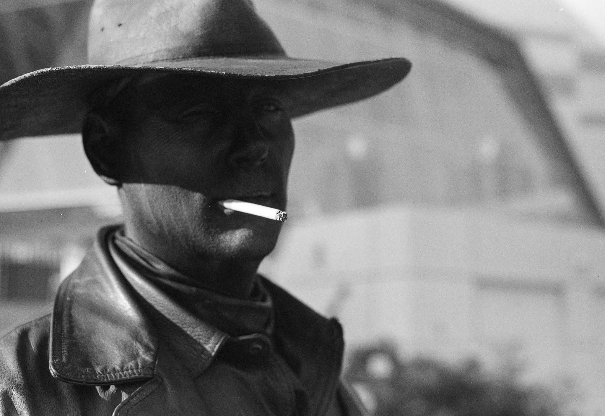 Urban Cowboy | Speed Graphic | Kodak 101mm f/4.5 | Kodak T-Max 400 | A. Gammel