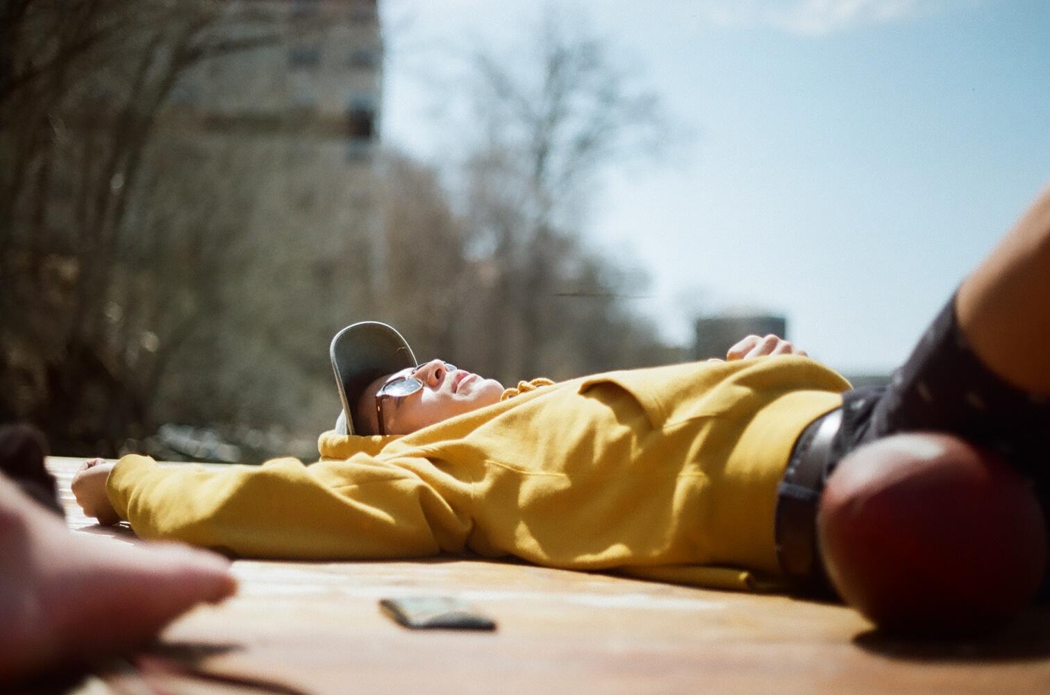 Jordyn Walker | Untitled Afternoon | Canon A-1 | Kodak Gold 200