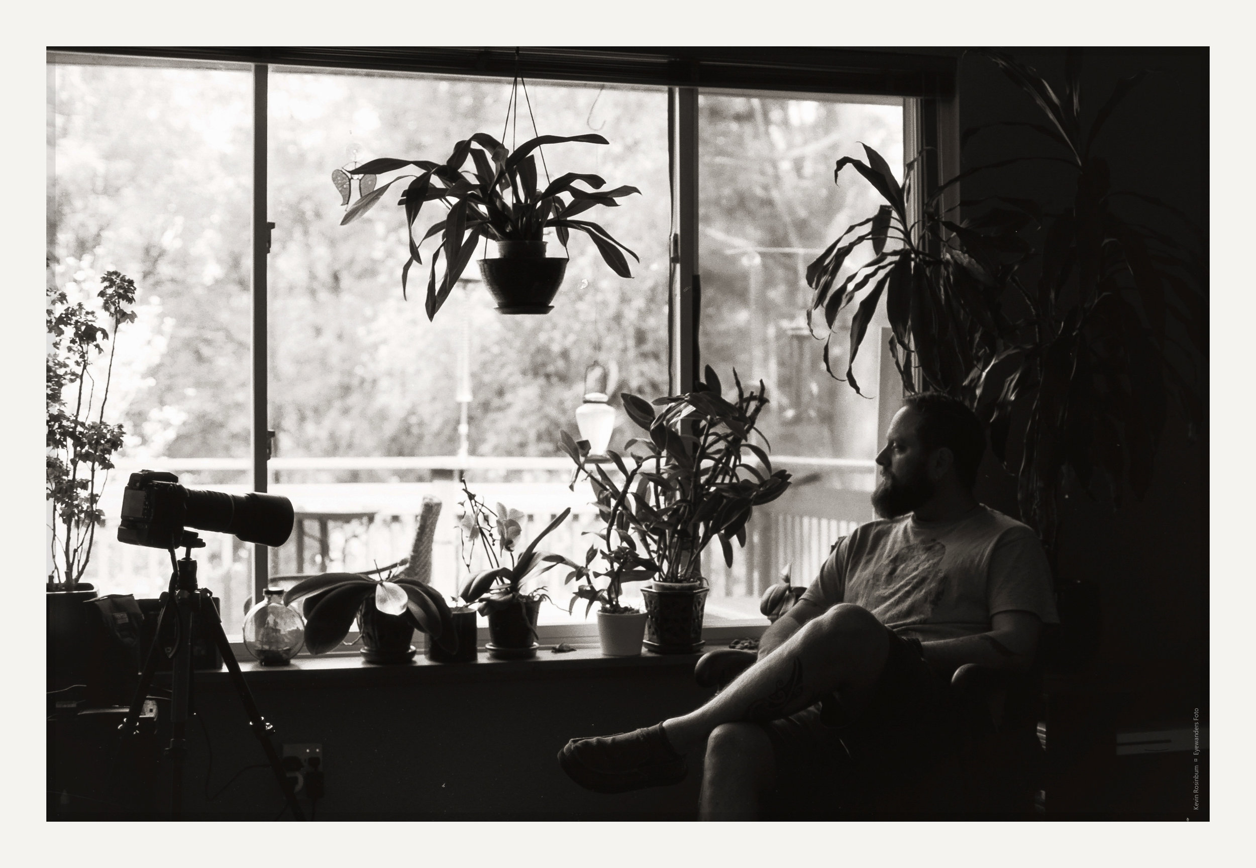 At Home in Right Light | Nikkormat FTn |  TMax 100 | Kevin Rosinbum