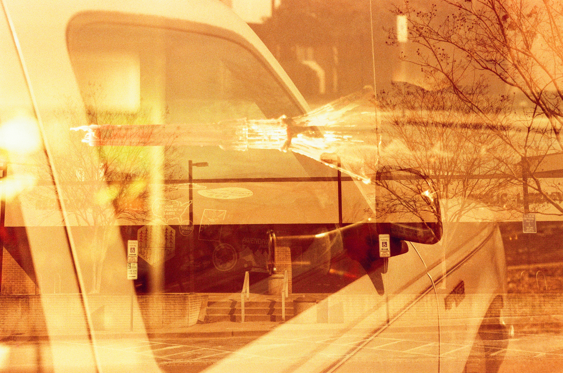 something from nothing | Nikon F100 | Lomo Redscale | Deborah Candeub
