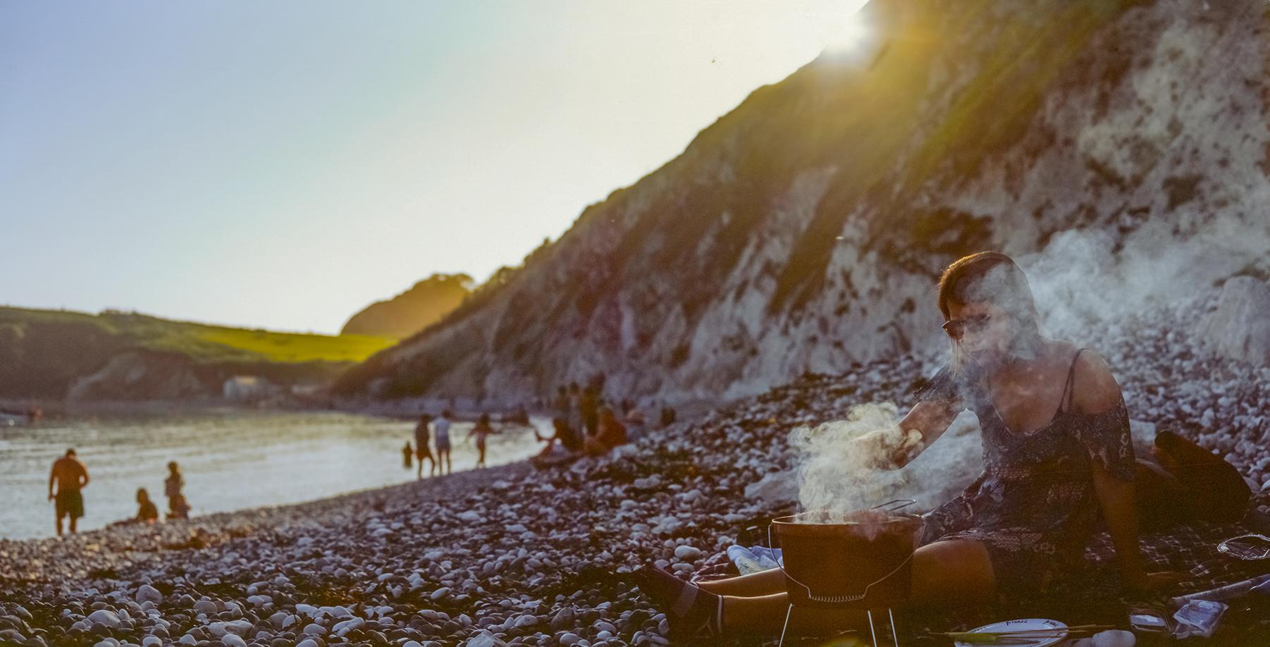 Gregor Sinclair | Lulworth Cove | RB67 | Velvia 50