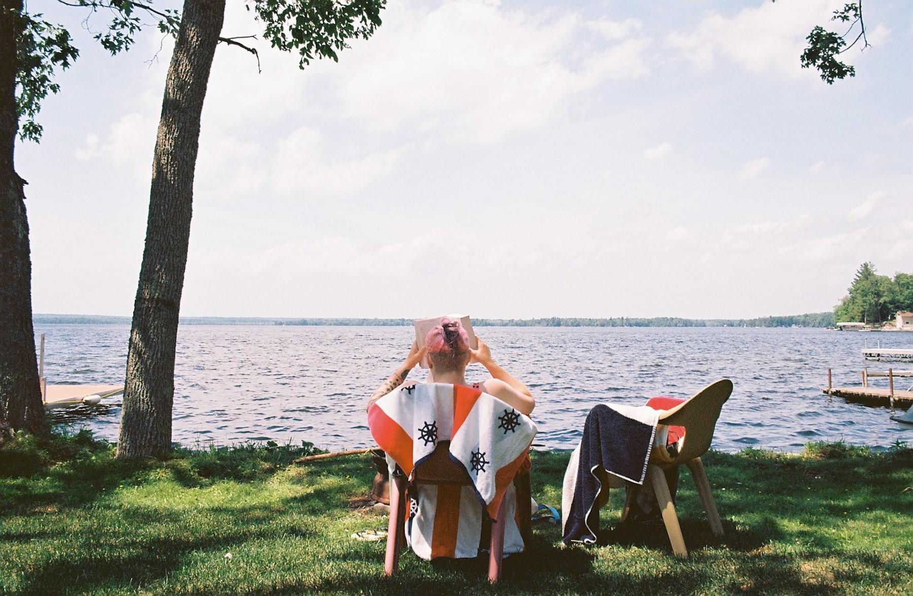 Karen Freer | Lake and Chill | Pentax ME Super