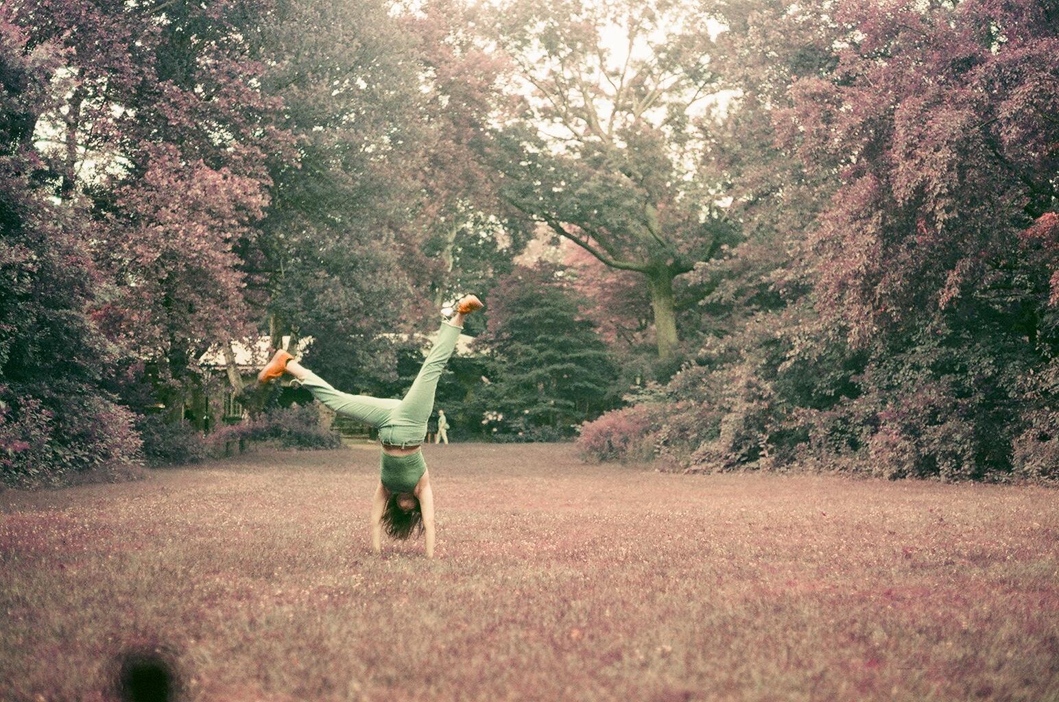 Jordyn Walker | Summer in Purple | Canon A1 | Portra 800