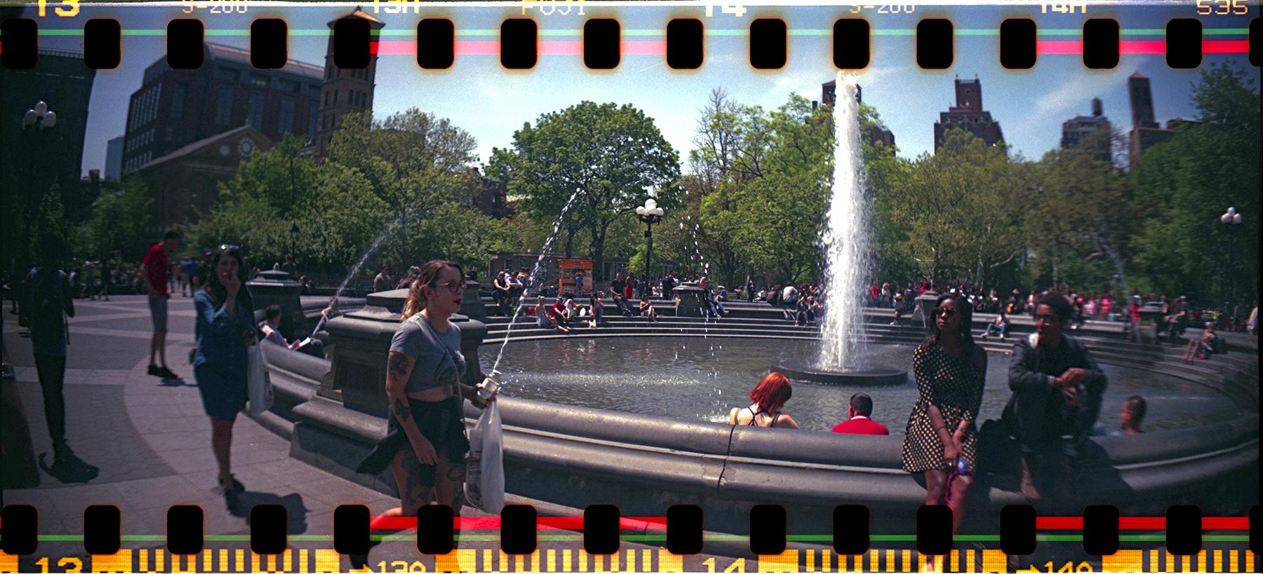 Randolph  Stoughton | Washington Square Park | sprocket rocket