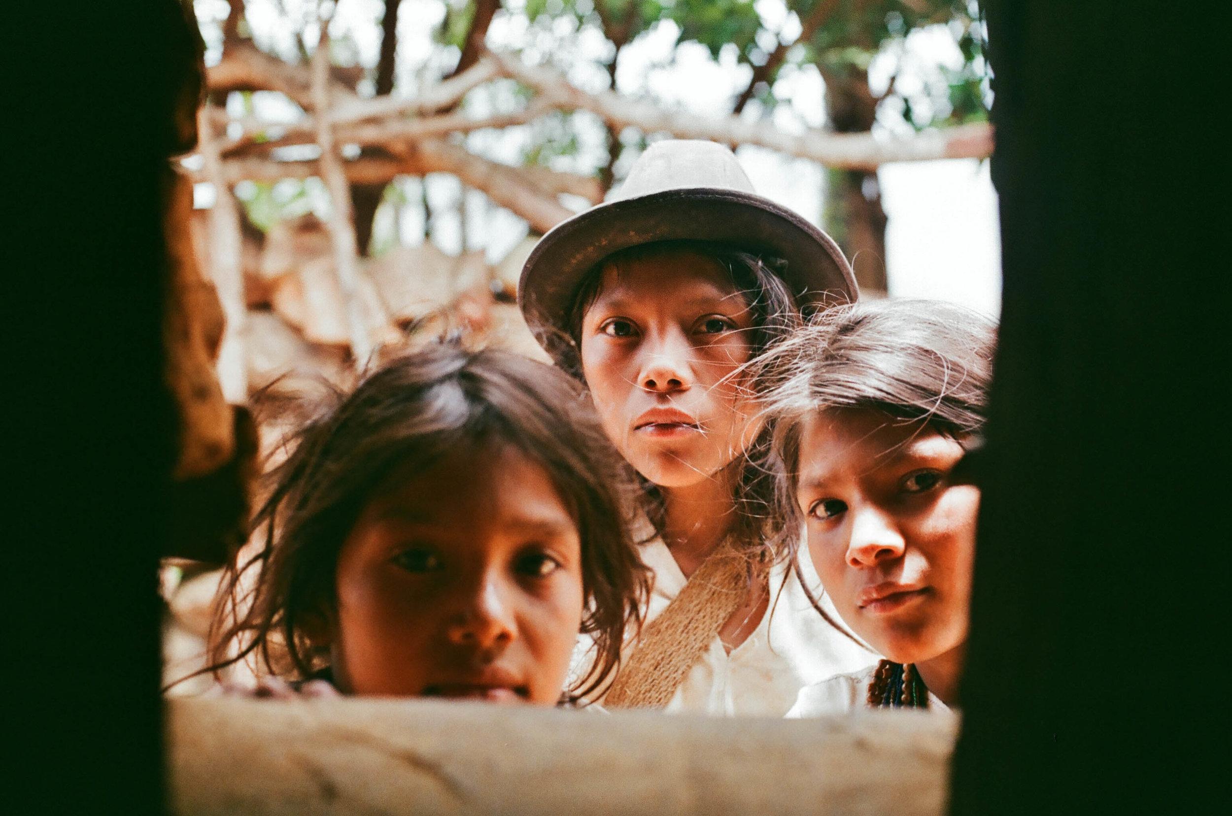 Arhuaco kids in Sierra Nevada de Santa Marta. 2017