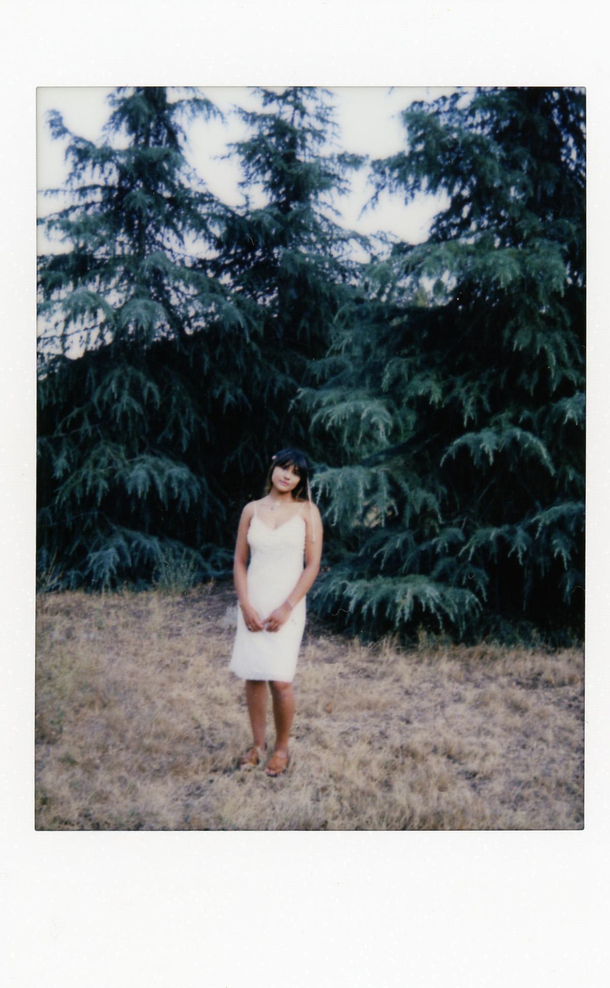 Forest Girl | Leica Sofort | Angela Pailevanian