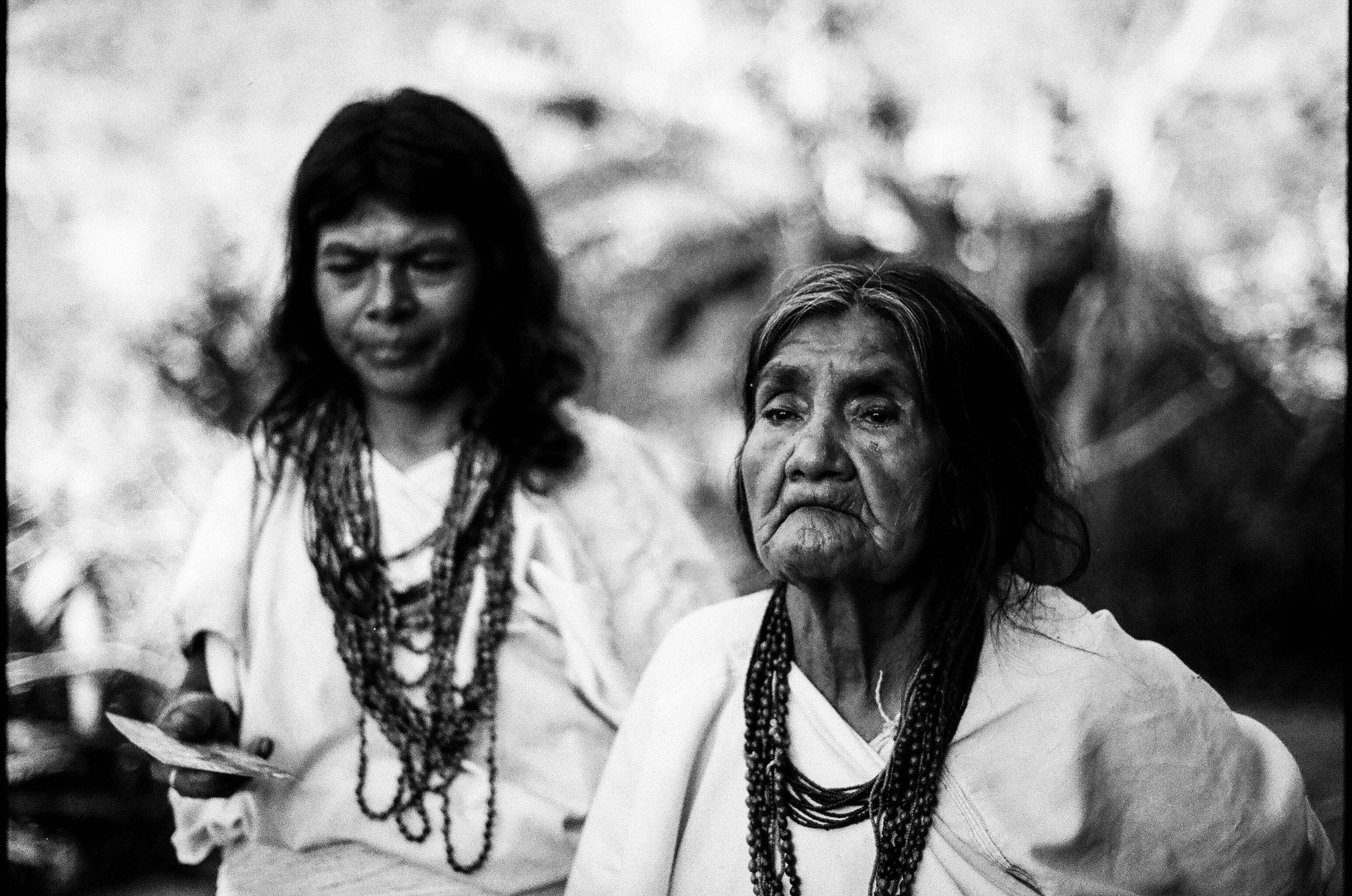 Arhuacos Women Las mujeres