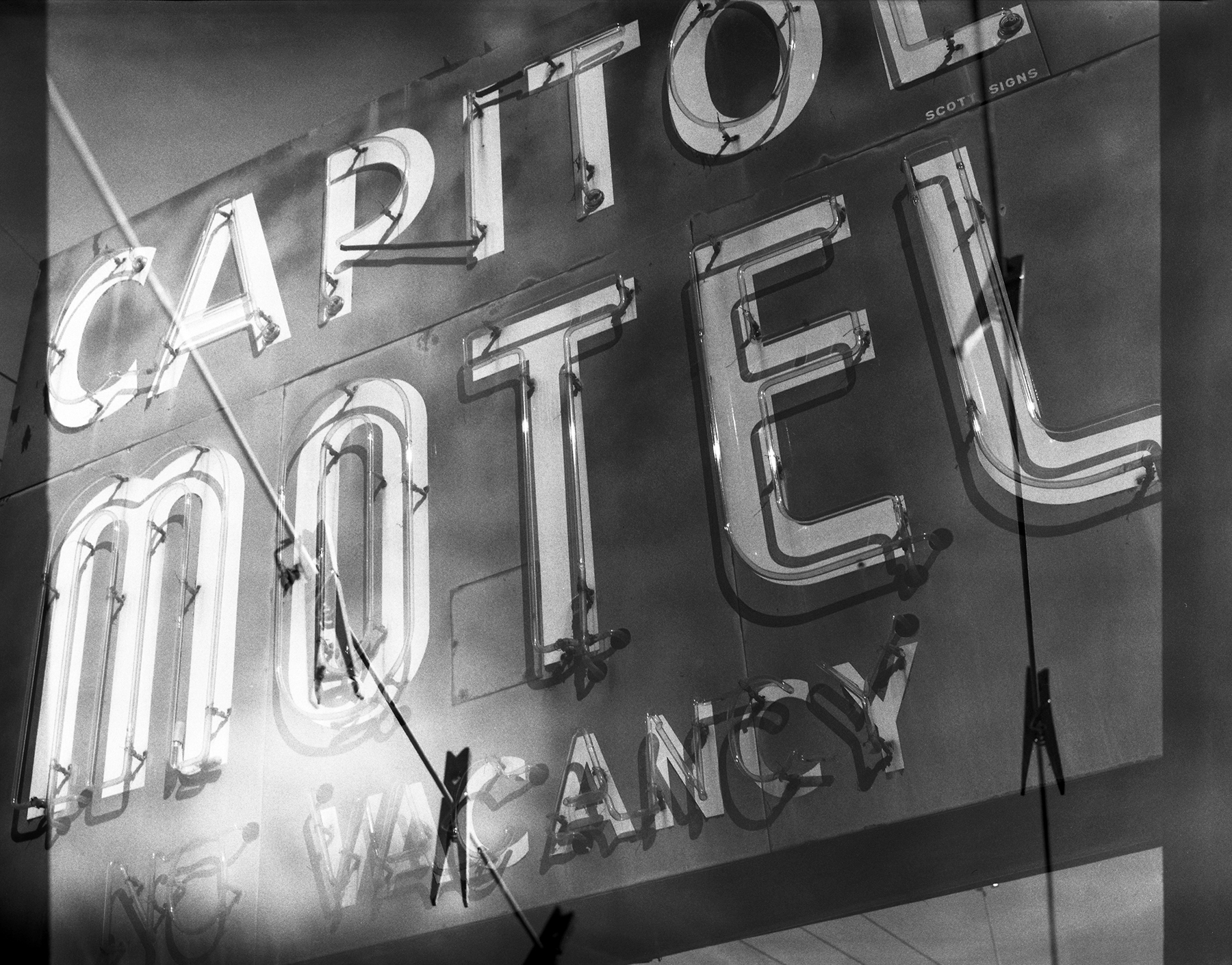 Capitol Motel | Mamiya RB67 ProS | Fuji Neopan Acros 100 | Barbara Justice