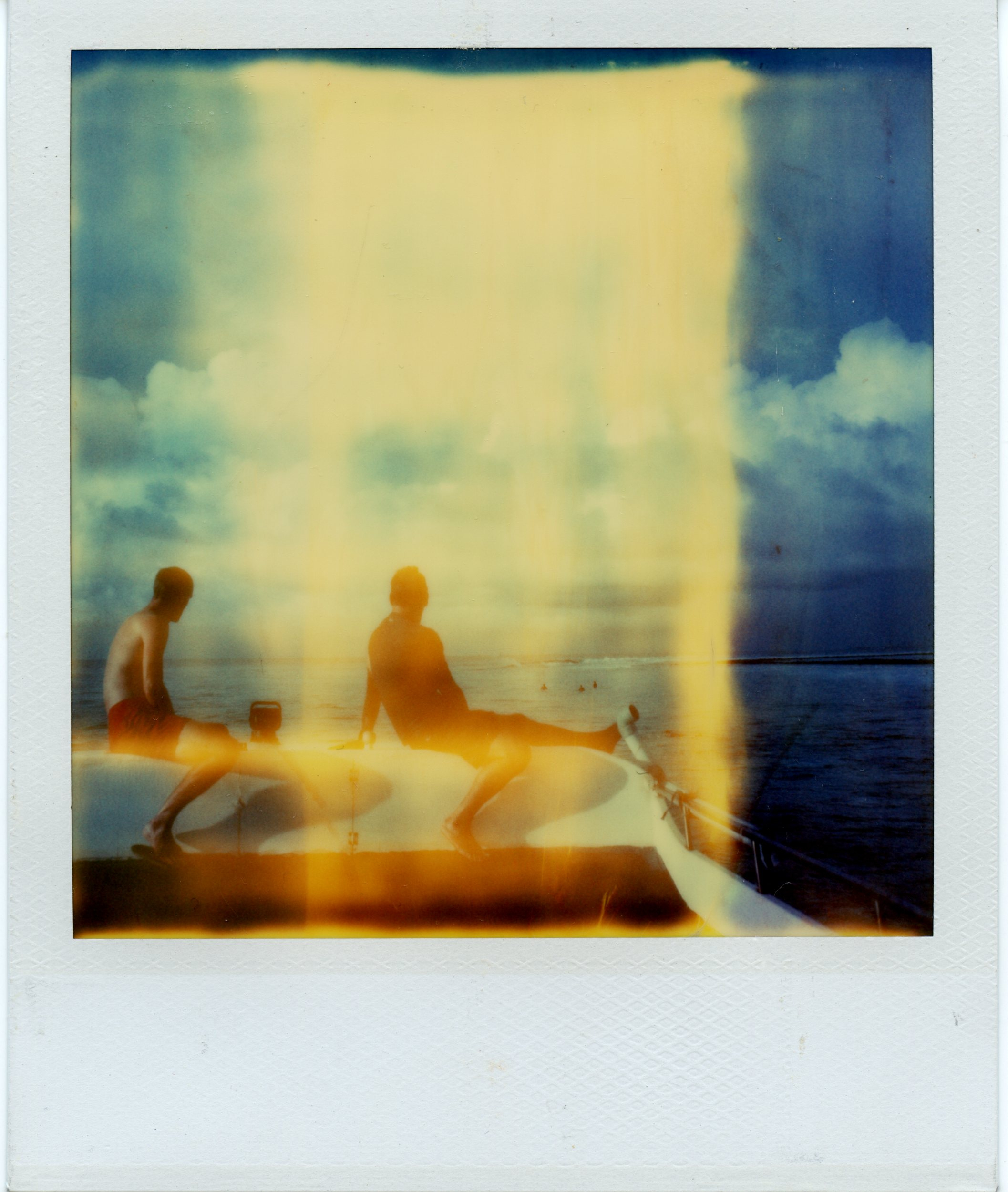 Maldives | Polaroid SX70 | Polaroid Time Zero | Matthew Smith