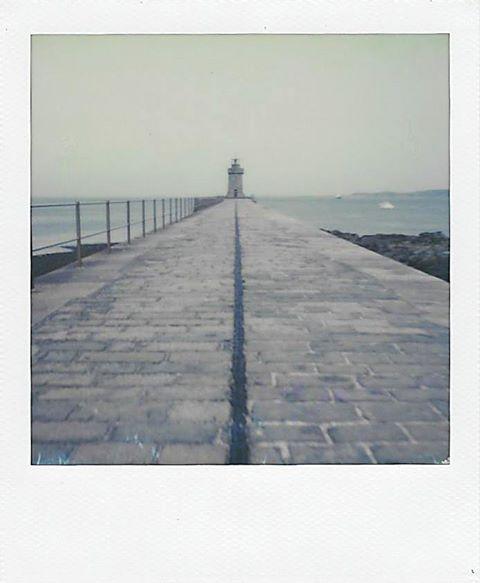 Breakwater | Polaroid SX70 | Impossible Project 70 Color | Julian Kanarek