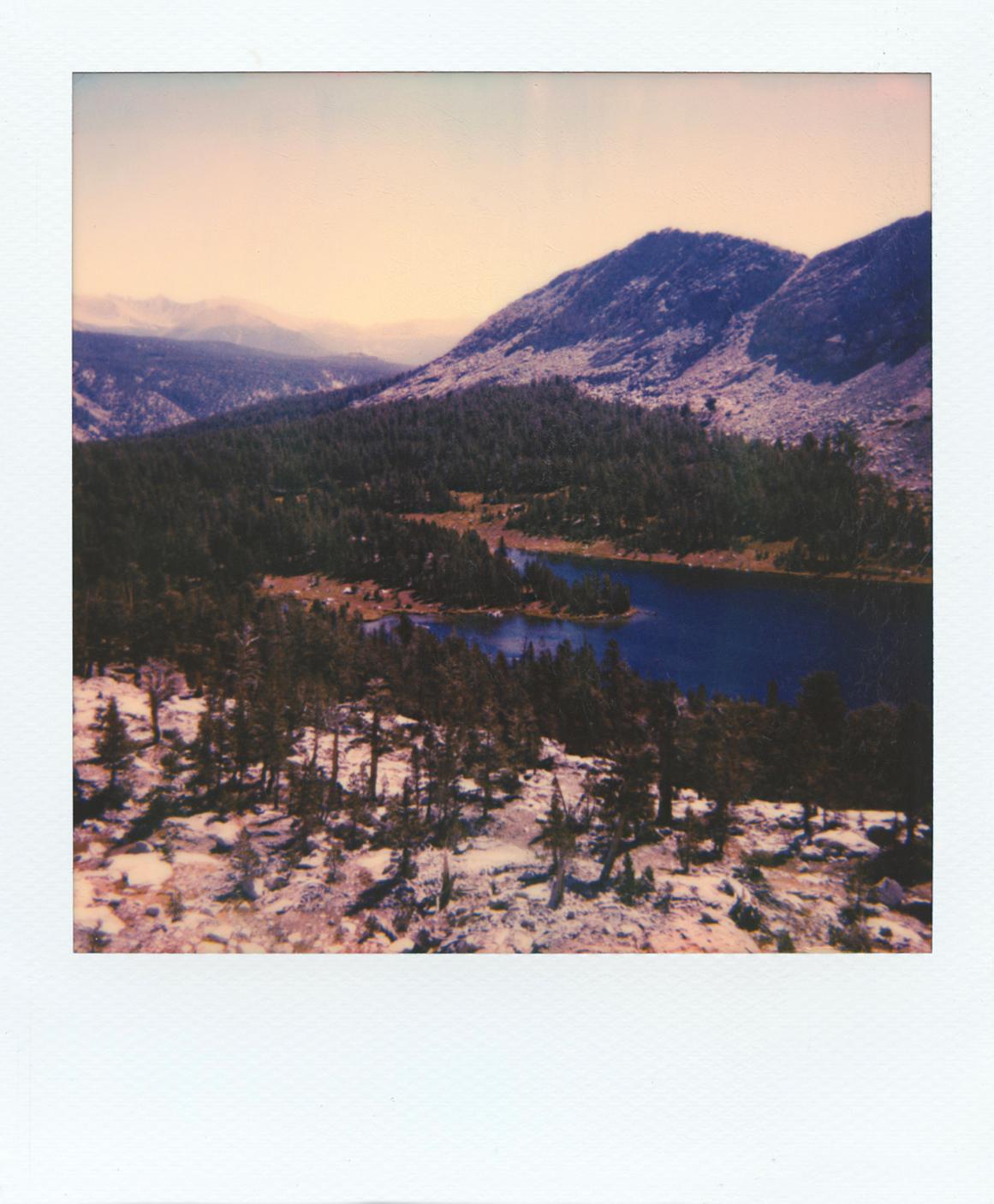 Little Five Lakes | Polaroid Sun 660AF | Polaroid Originals 600 Color | Michael Behlen