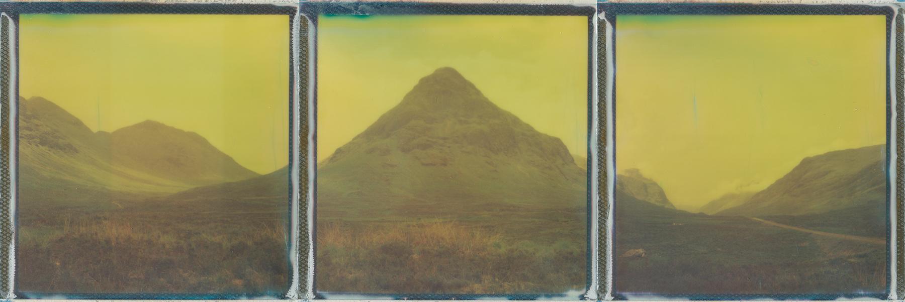 Buachaille Etìve Mòr | Polaroid SX70 | Impossible Project 600 Color | Ina Echternach