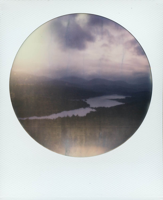 Faraway Land | Polaroid SLR680 | Impossible Project Round Frame 600 Color | Kirsten Thys Van Den Audenaerde