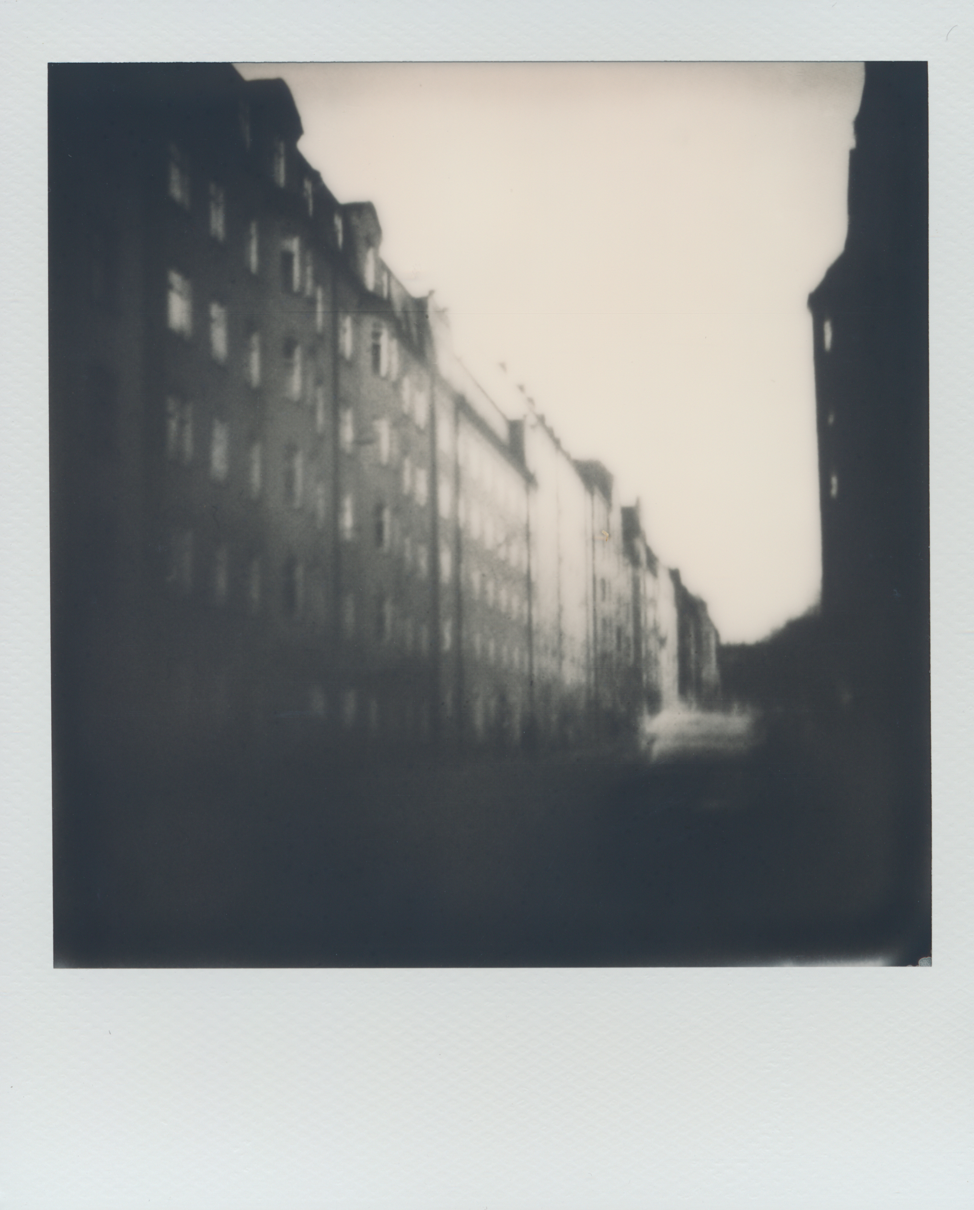 Stockholm Street | Impossible Project Instant Lab | Impossible Project 600 B/W Film | Per Forsström