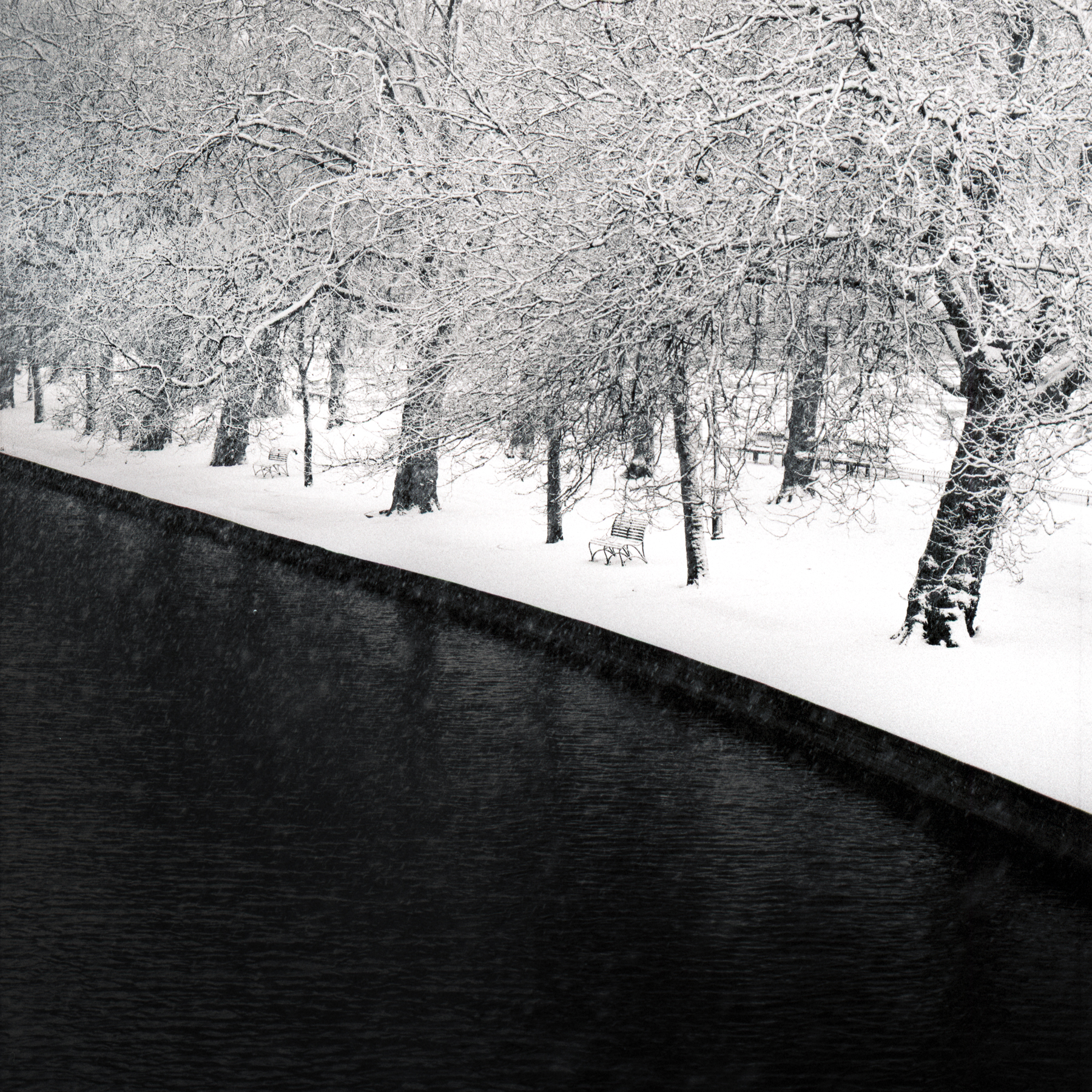 Darren Rose | Winter on The River Ouse | Hasselblad 500 C/M