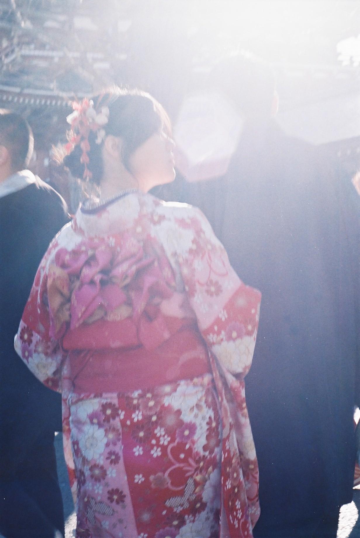 Rika Hoffman  | Tokyo in January | Minolta SRT 101