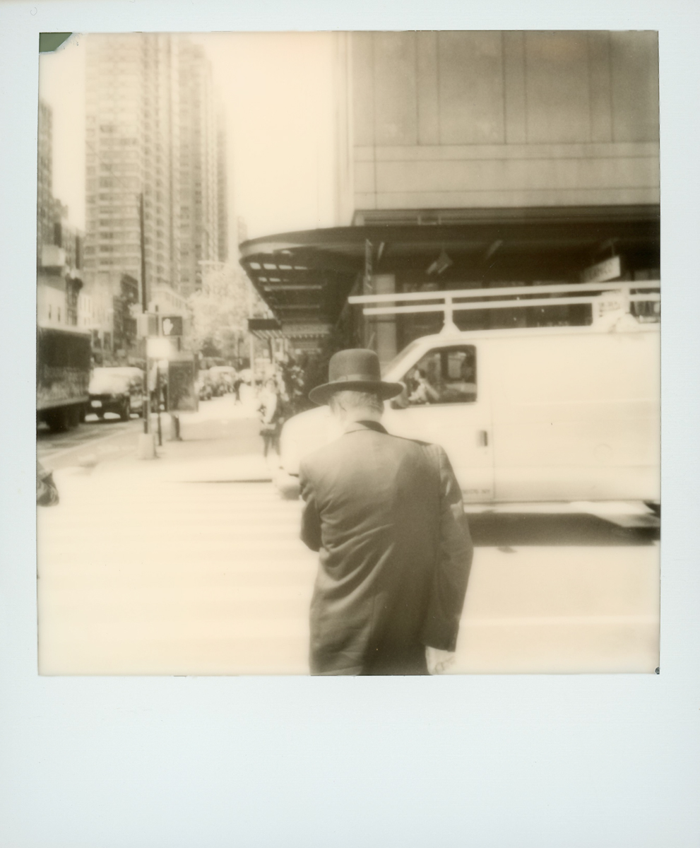 Afternoon Stroll | Polaroid OneStep 2 | Polaroid Black and White | Staci Kennelly