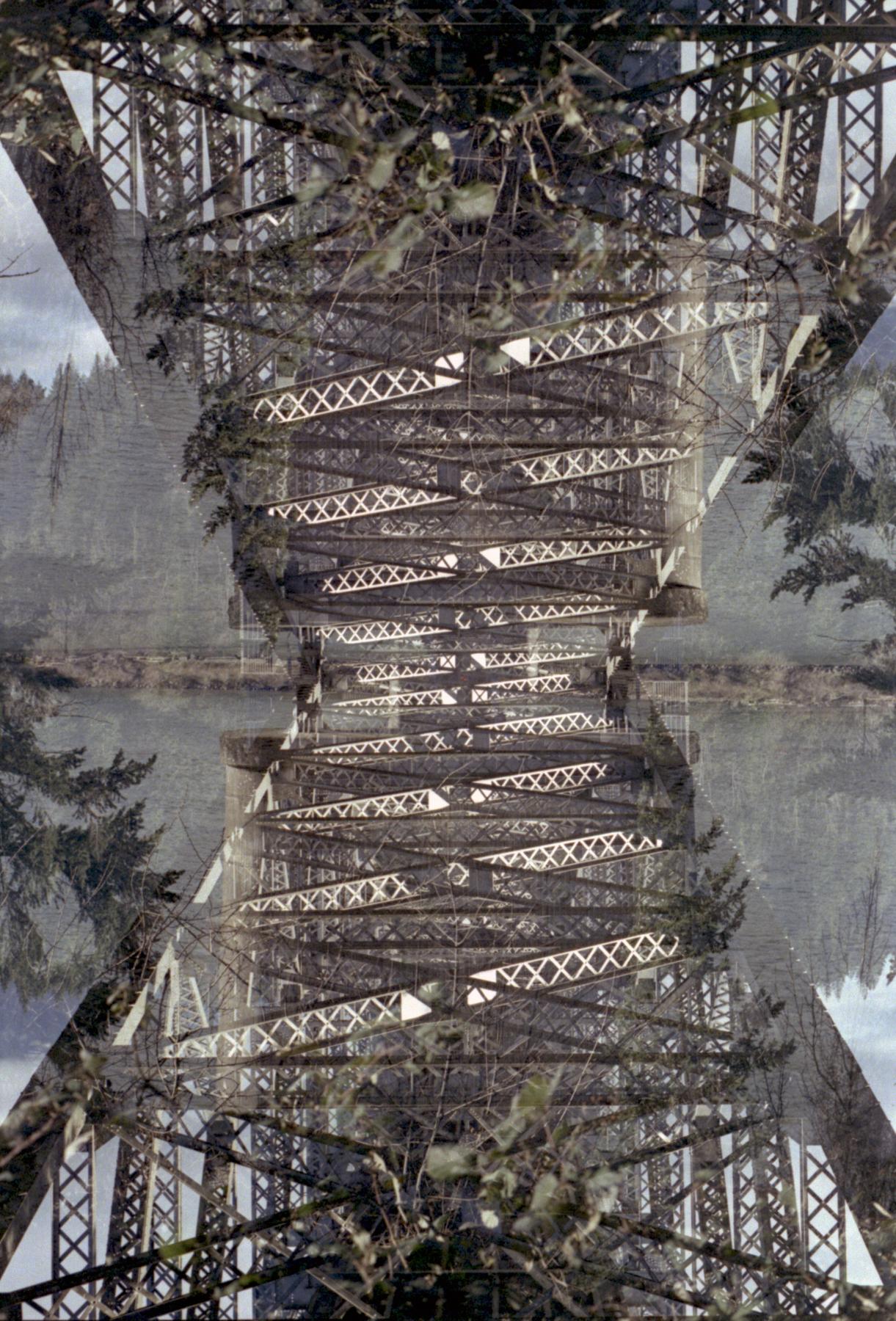 The Bridge | Vivitar V3800N | Gina Gorsek