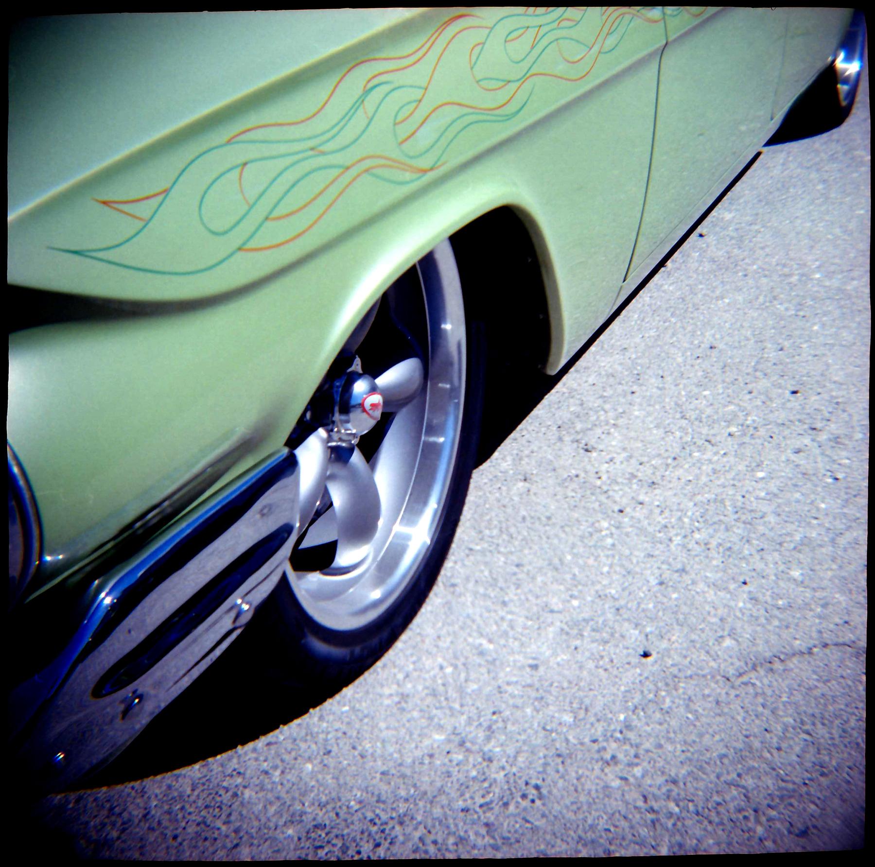 '61 Chevy Wagon | Diana 151 | Kodak 100UC