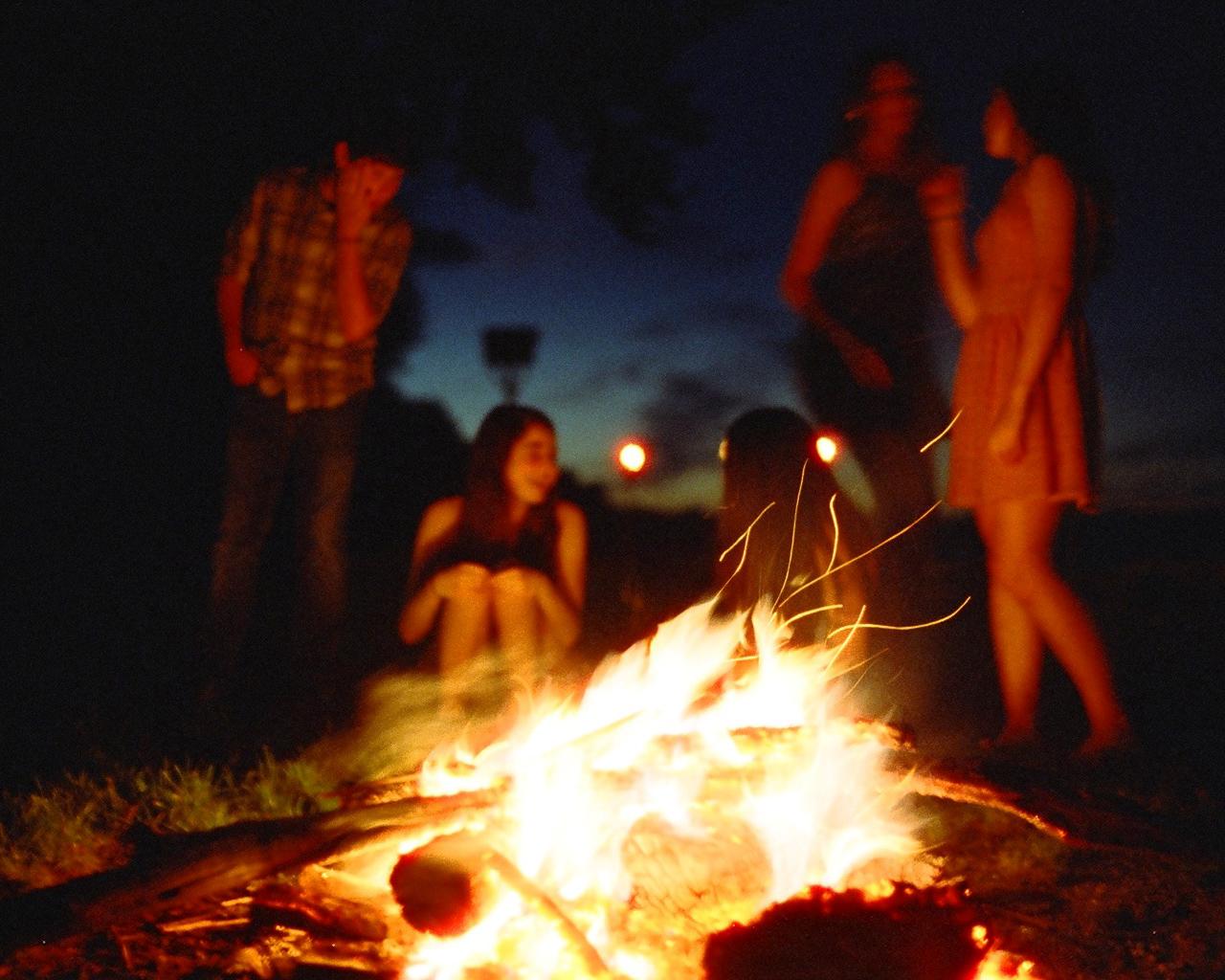 Bonfire   Nikon FE2   Cinestill800   Howard Sandler